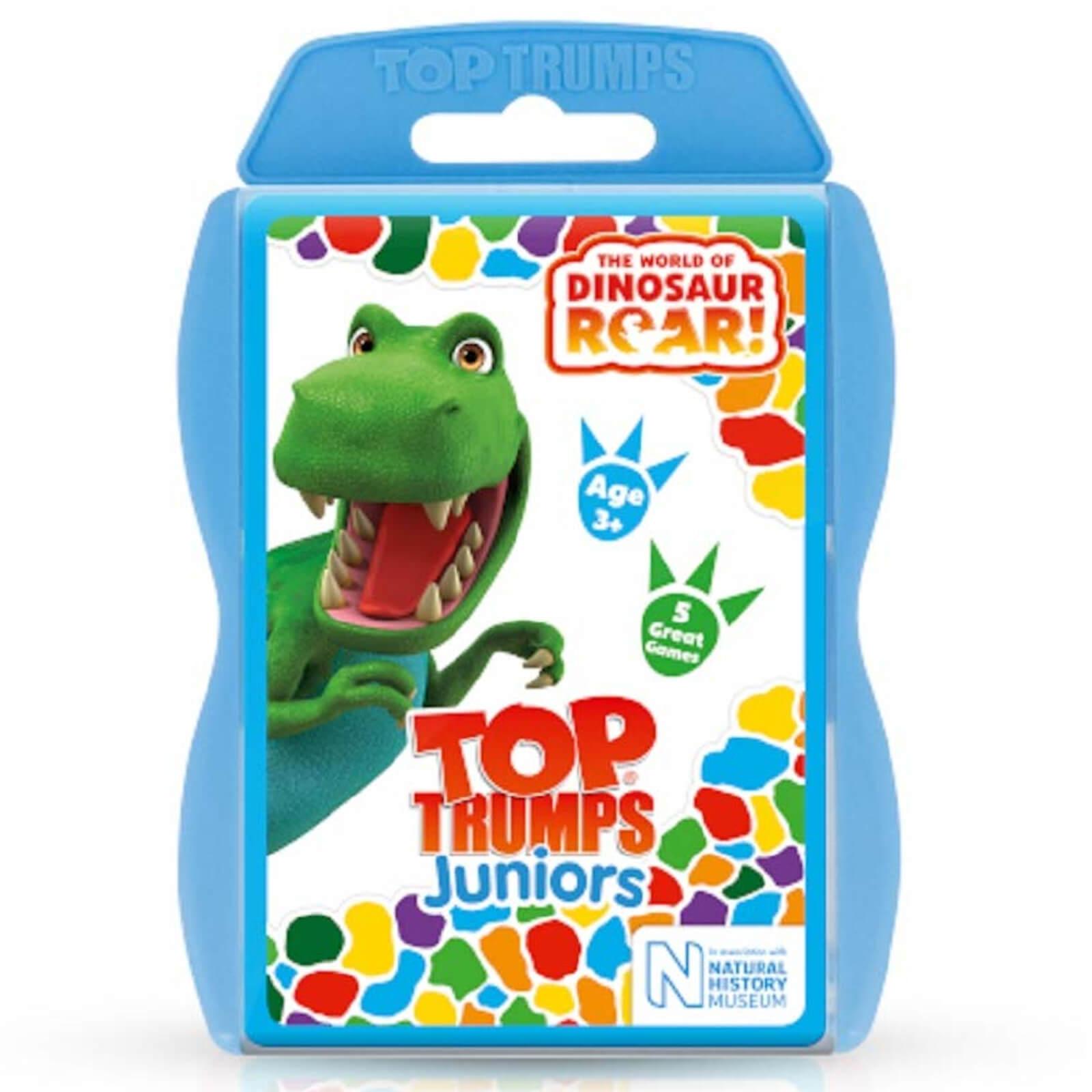 Image of Top Trumps Card Game - Dinosaur Roar Edition