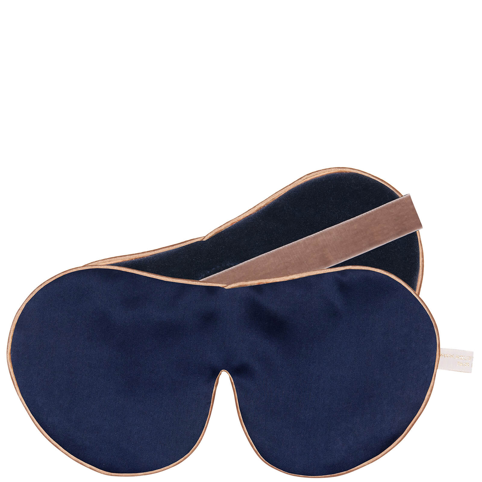 Купить Holistic Silk One Strap Pure Mulberry Silk Lavender Eye Mask - Navy