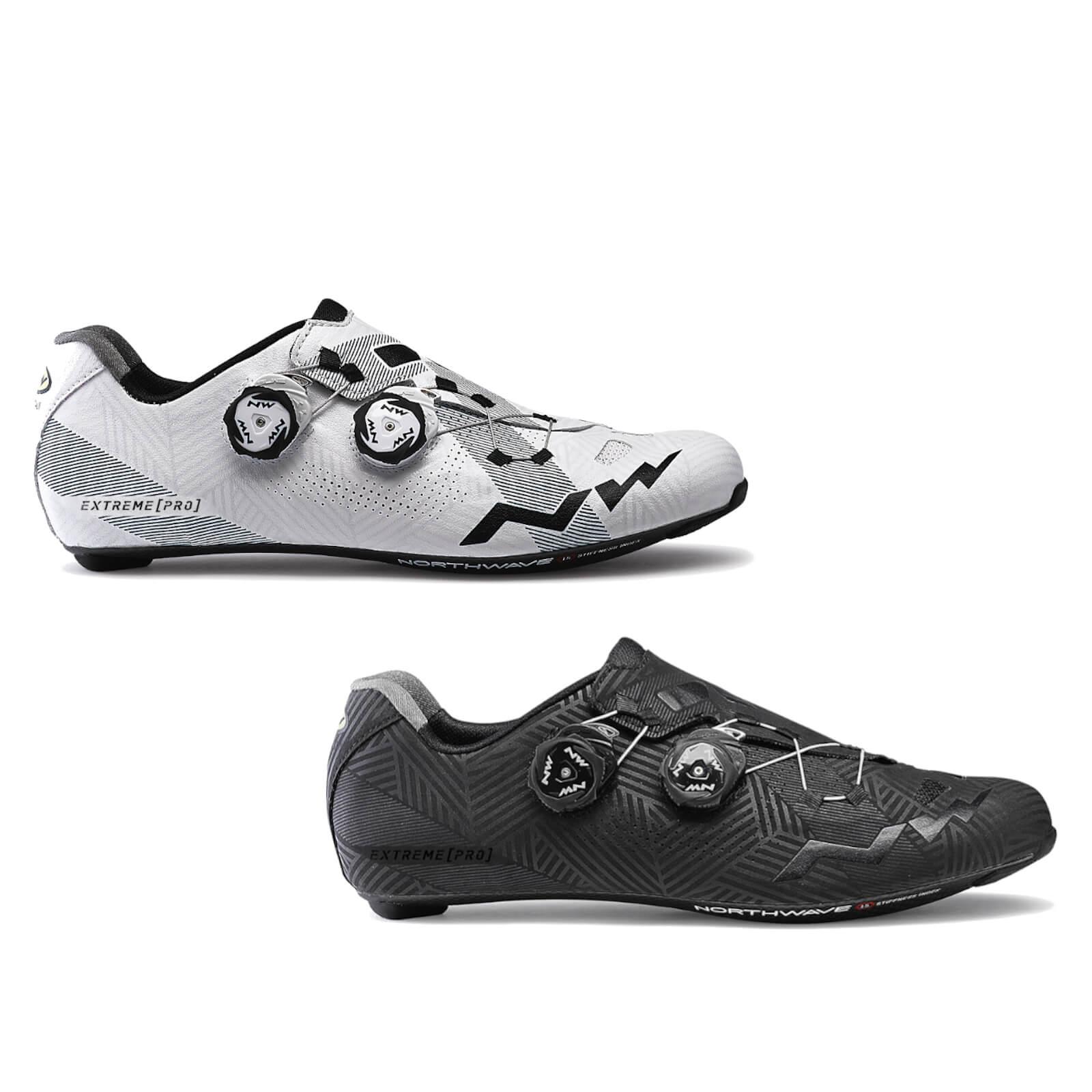 Northwave Extreme Pro Carbon Road Shoes - EU 45 - Schwarz