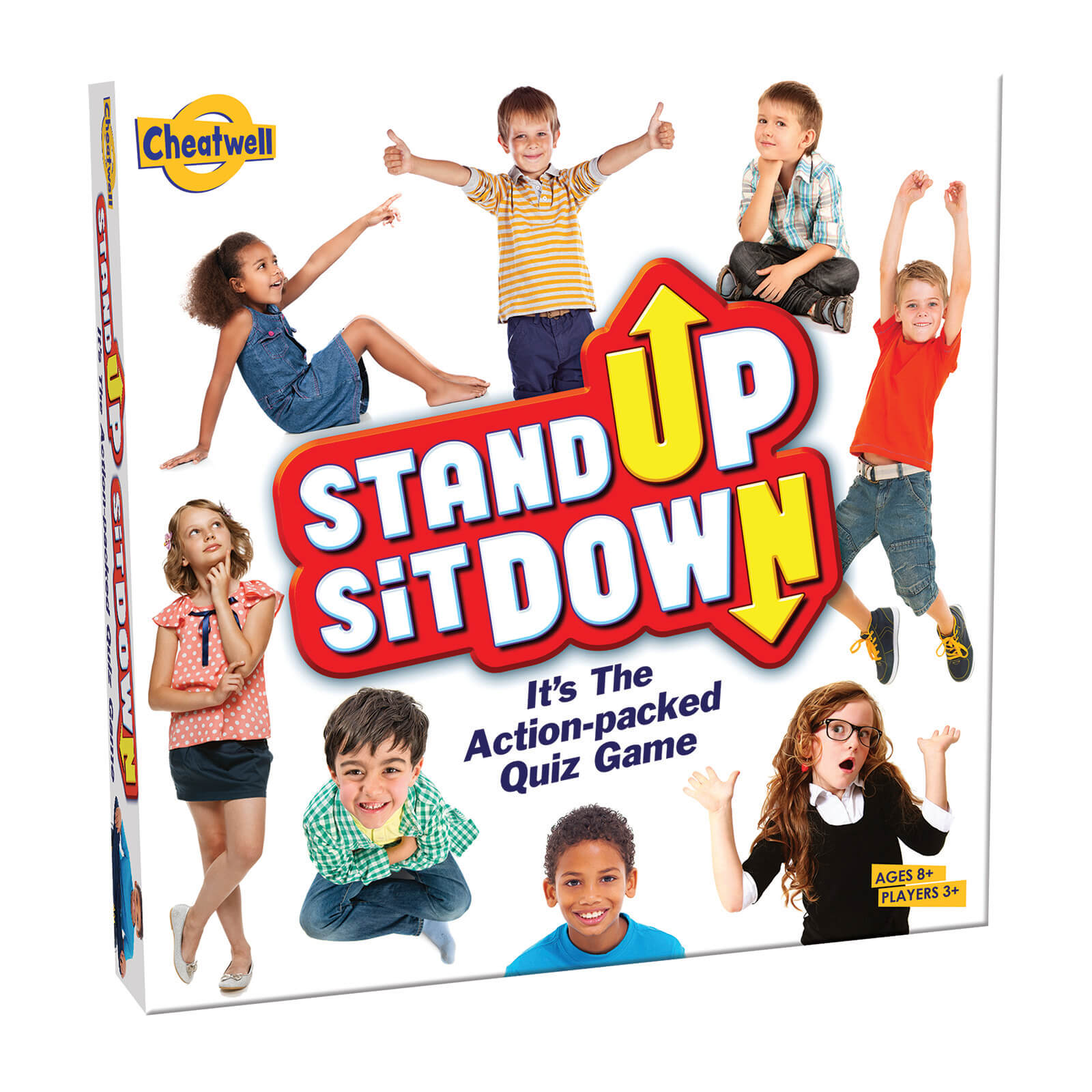 Image of Stand up Sit Down Card Game