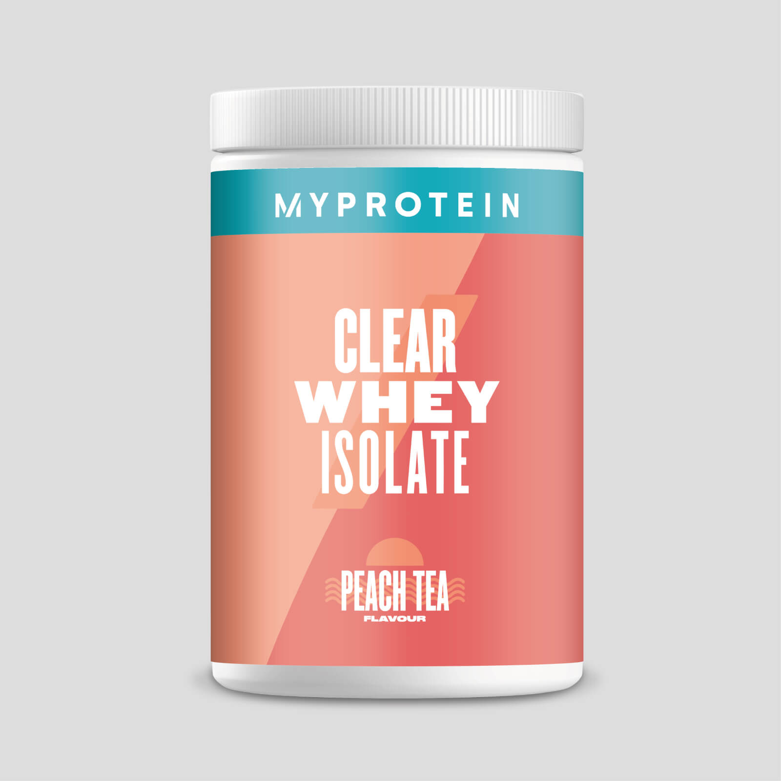 Clear Whey Isolate - 20servings - Peach Tea