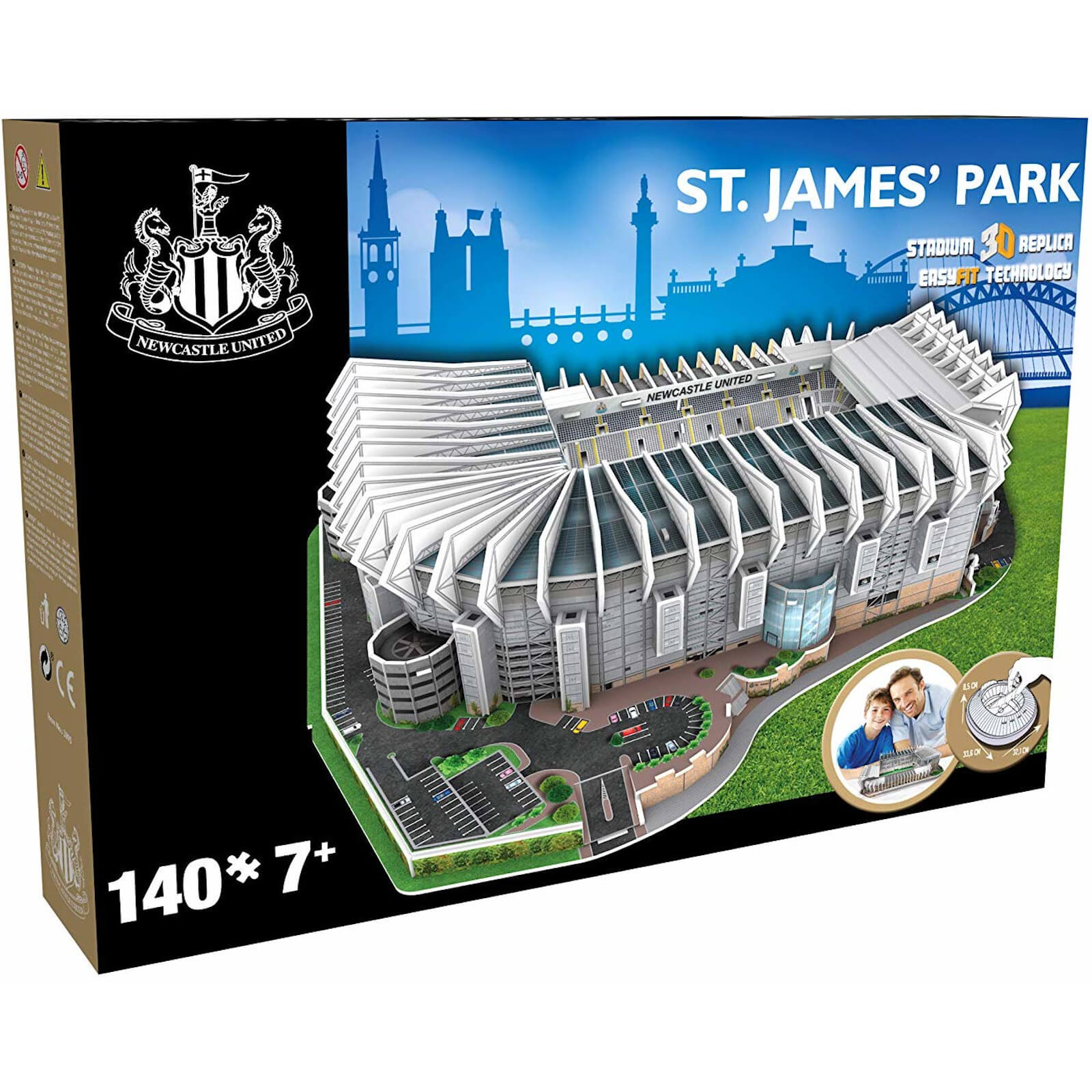 3D Puzzle Football Stadium – St. James' Park