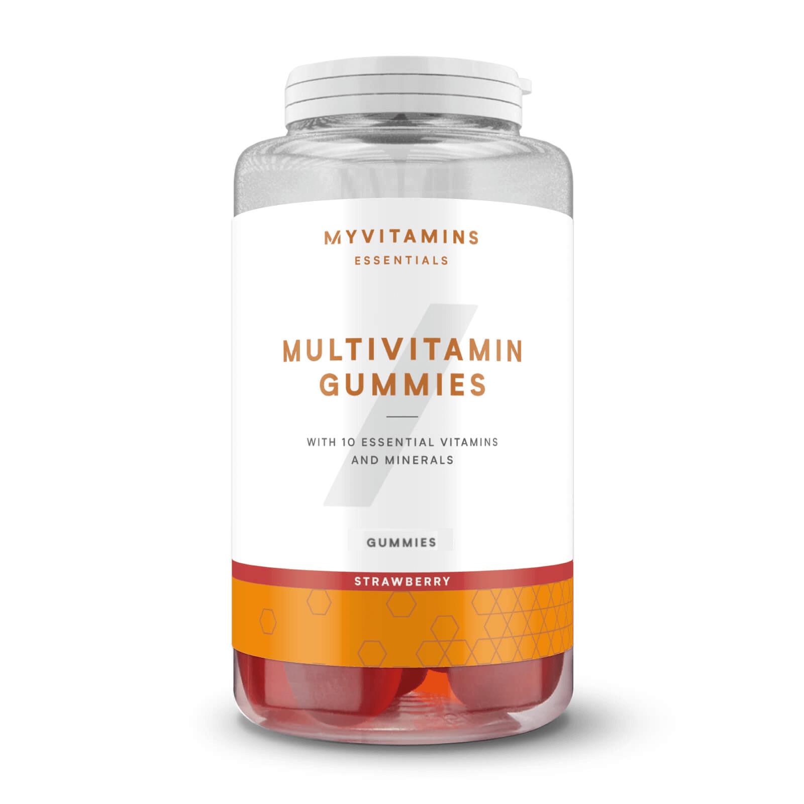 Bonbons Multivitaminés - 30servings - Fraise