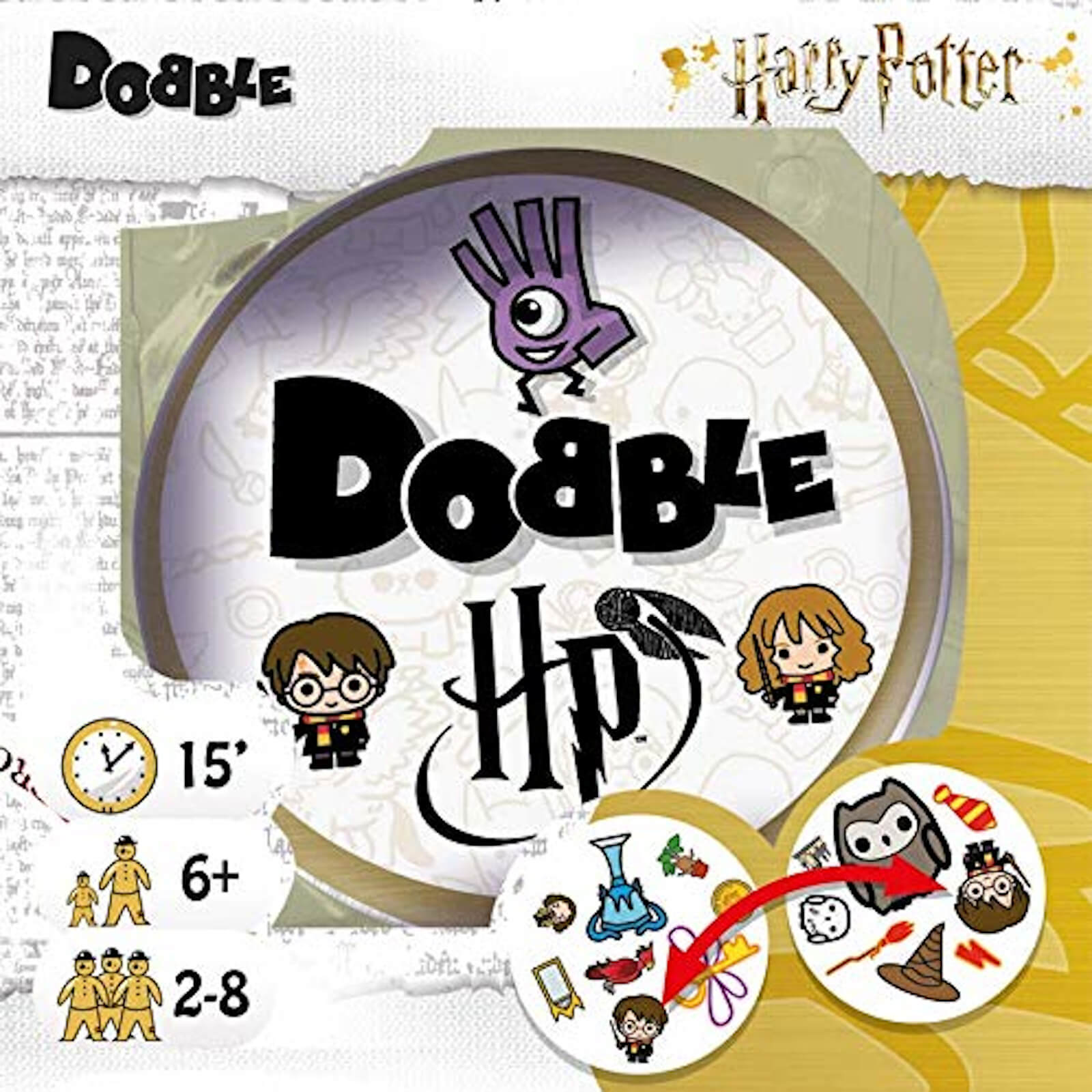 Image of Dobble - Harry Potter Edition