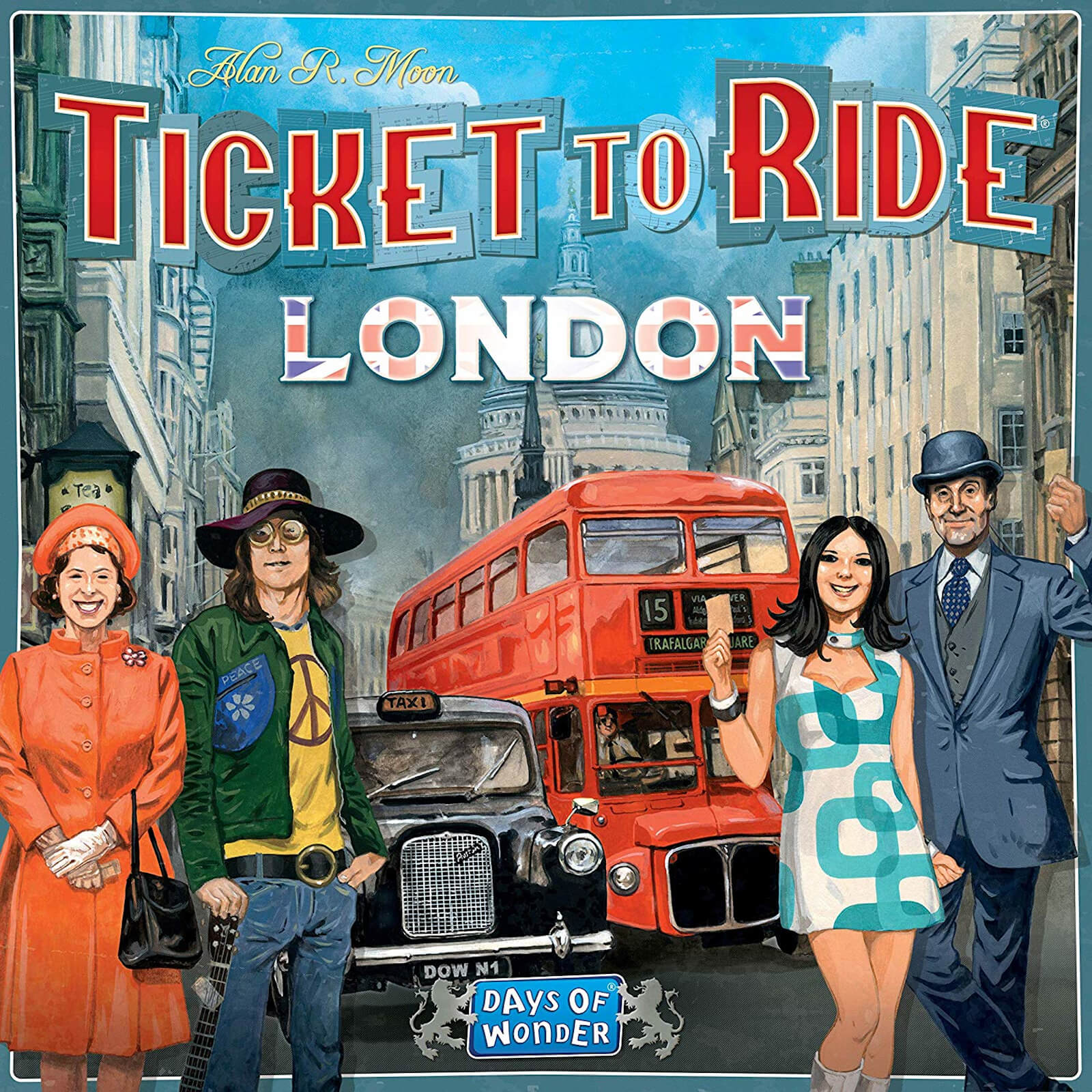Image of Ticket To Ride: London Board Game
