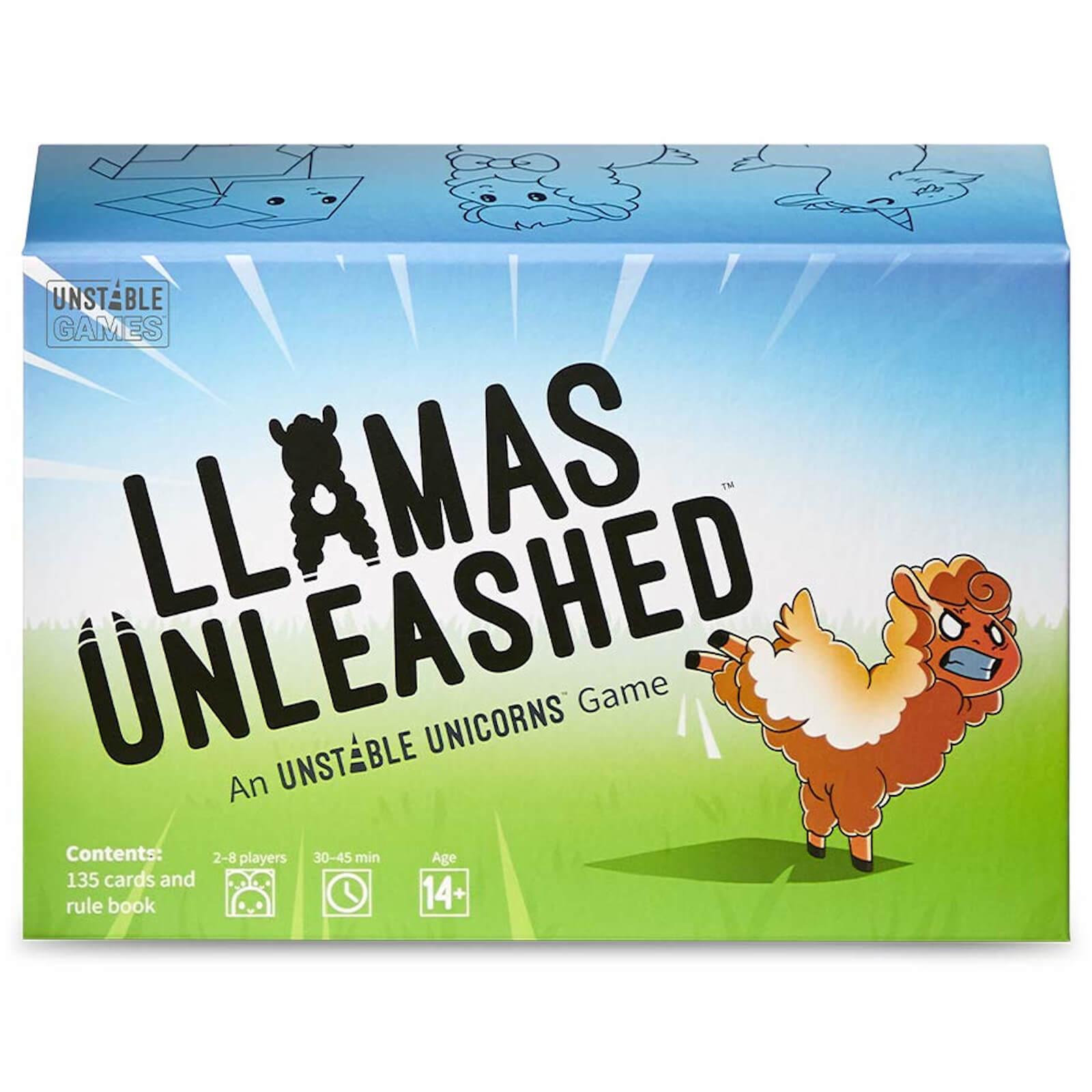 Image of Llamas Unleashed Card Game