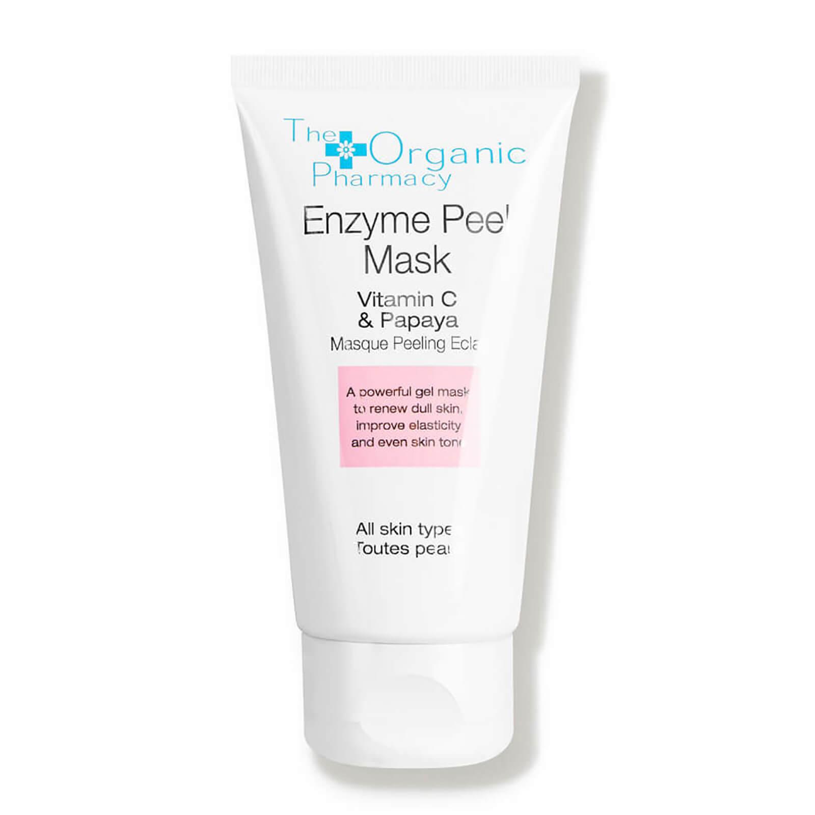 the organic pharmacy enzyme peel mask with vitamin c and papaya 60ml