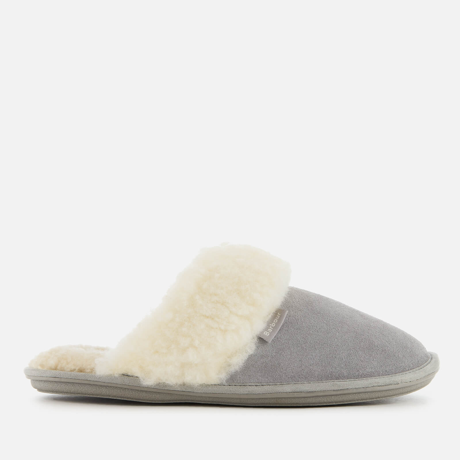 Click to view product details and reviews for Barbour Womens Lydia Suede Mule Slippers Grey Uk 3 Grey.