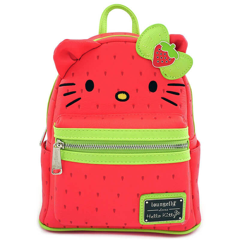 Image of Loungefly Sanrio Hello Kitty Strawberry Mini Backpack