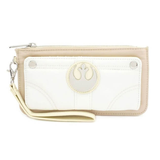 Image of Loungefly Star Wars Mini Faux Leather Purse With Suede And Nylon Trims