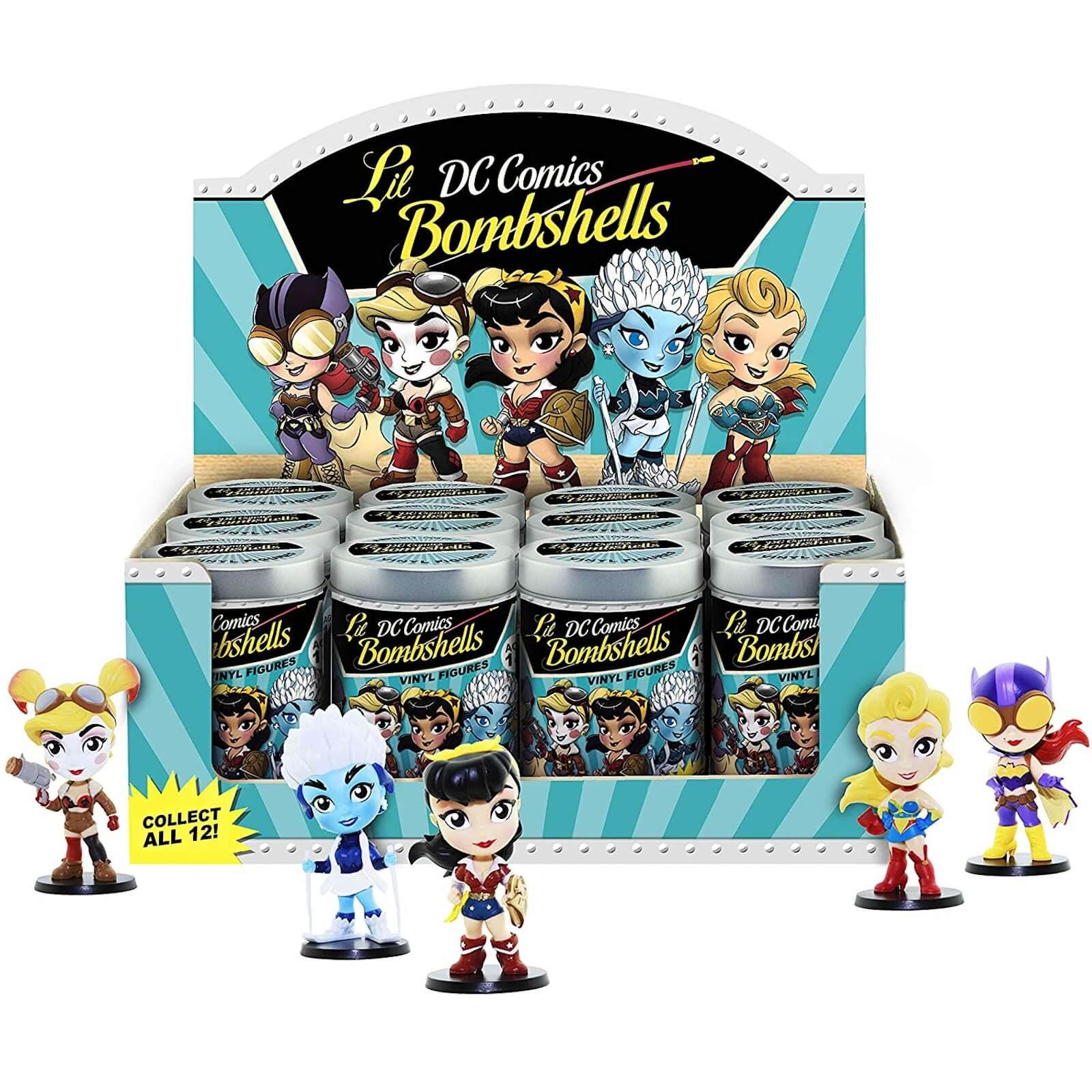 Cryptozoic DC Comics Lil Bombshells Series 2 Asst