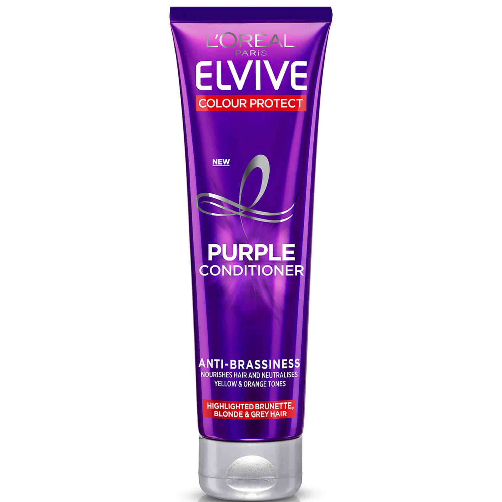 L'Oréal Paris Elvive Colour Protect Anti-Brassiness Purple Conditioner 150ml