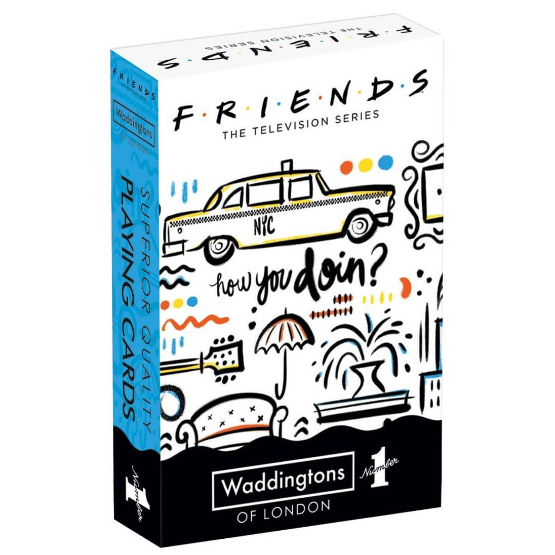 Image of Waddingtons Number 1 Playing Cards - Friends Edition
