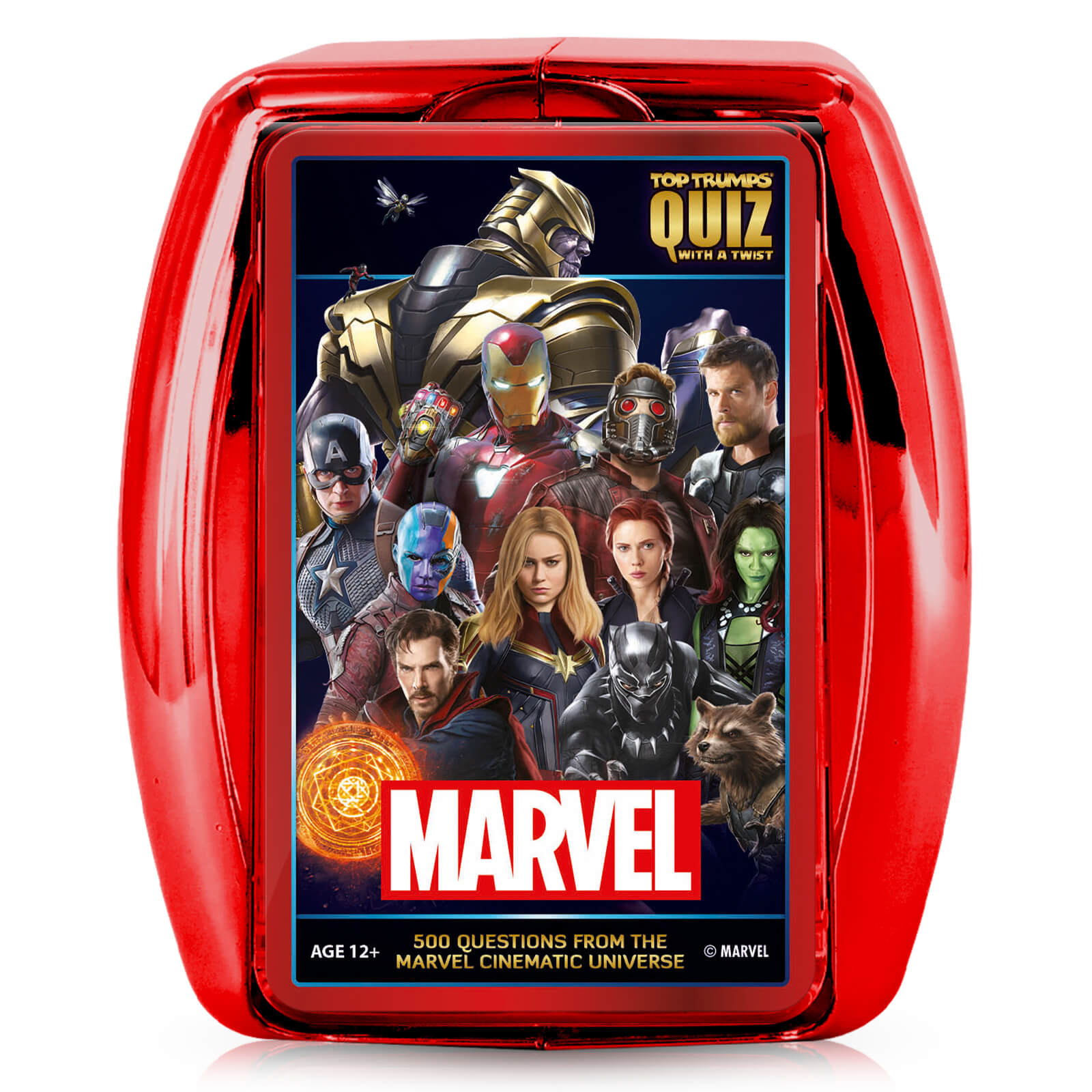 Image of Marvel Cinematic Top Trumps Card Game