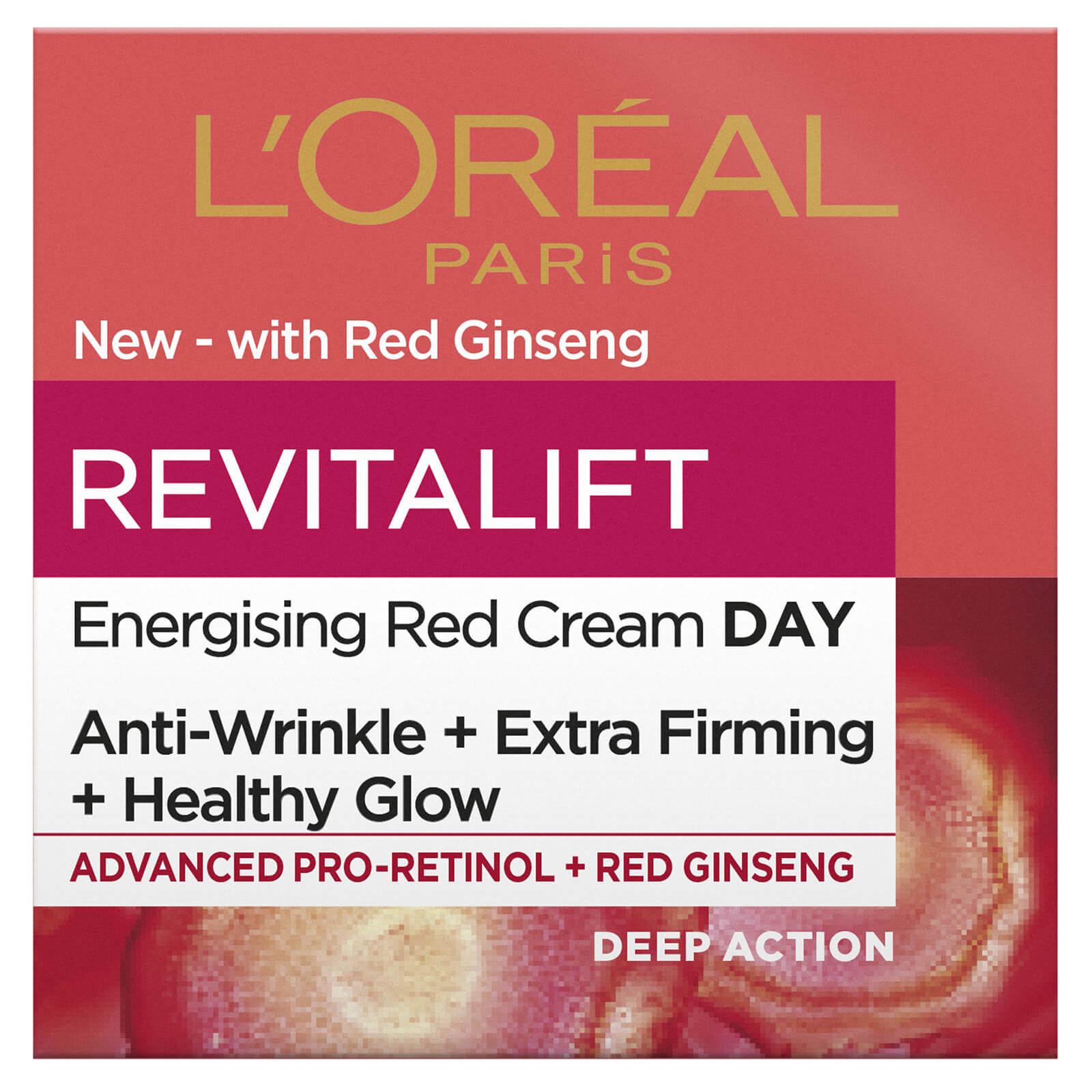 Купить L'Oréal Paris Revitalift Energising Red Day Cream 50ml