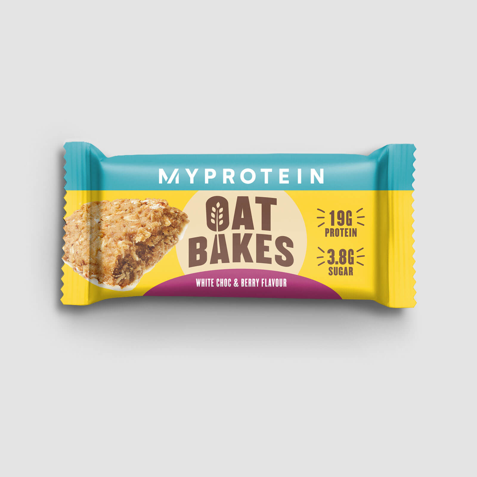 Купить Oat Bakes (Sample) - Berry and White Chocolate, Myprotein International