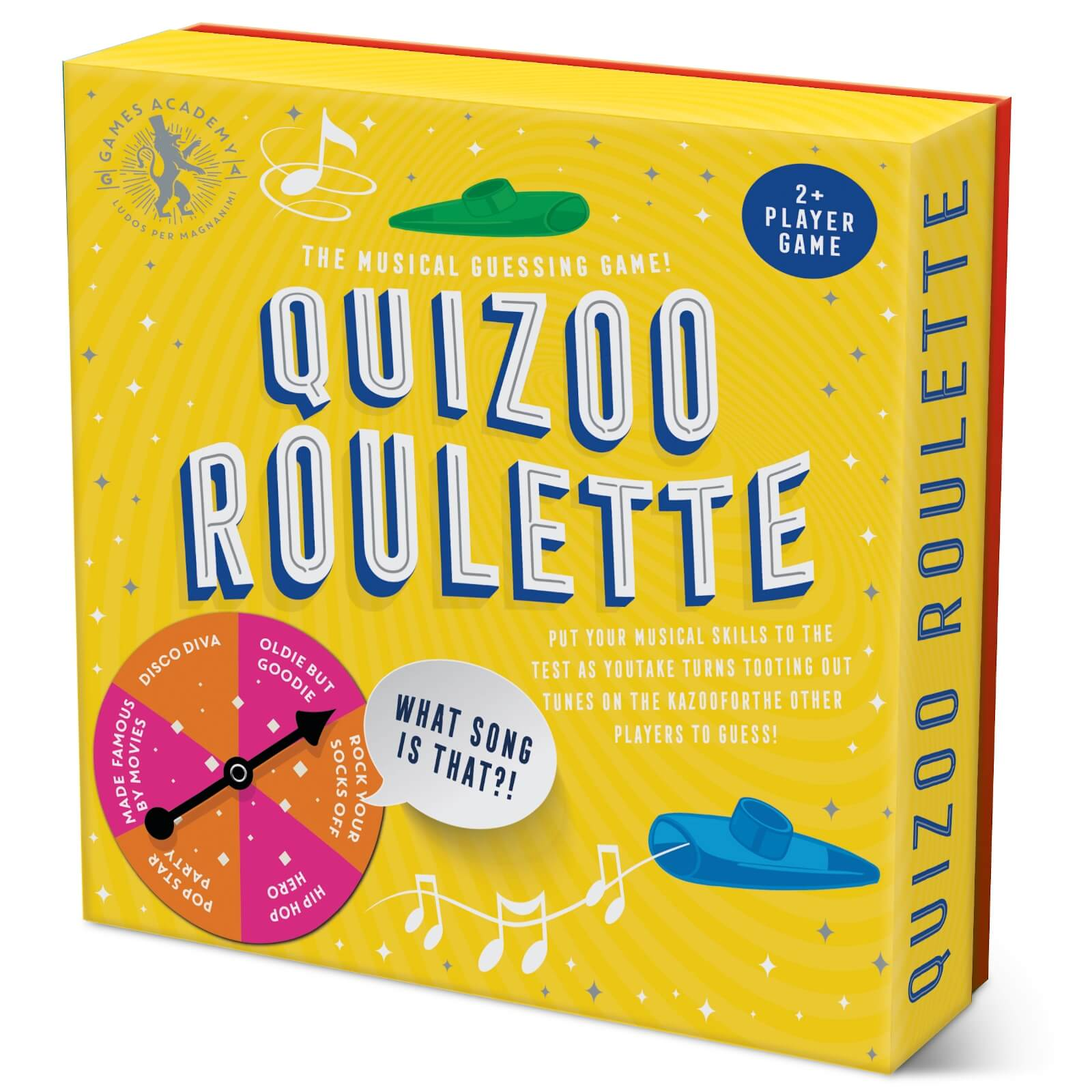 Image of Games Academy Quizoo Roulette