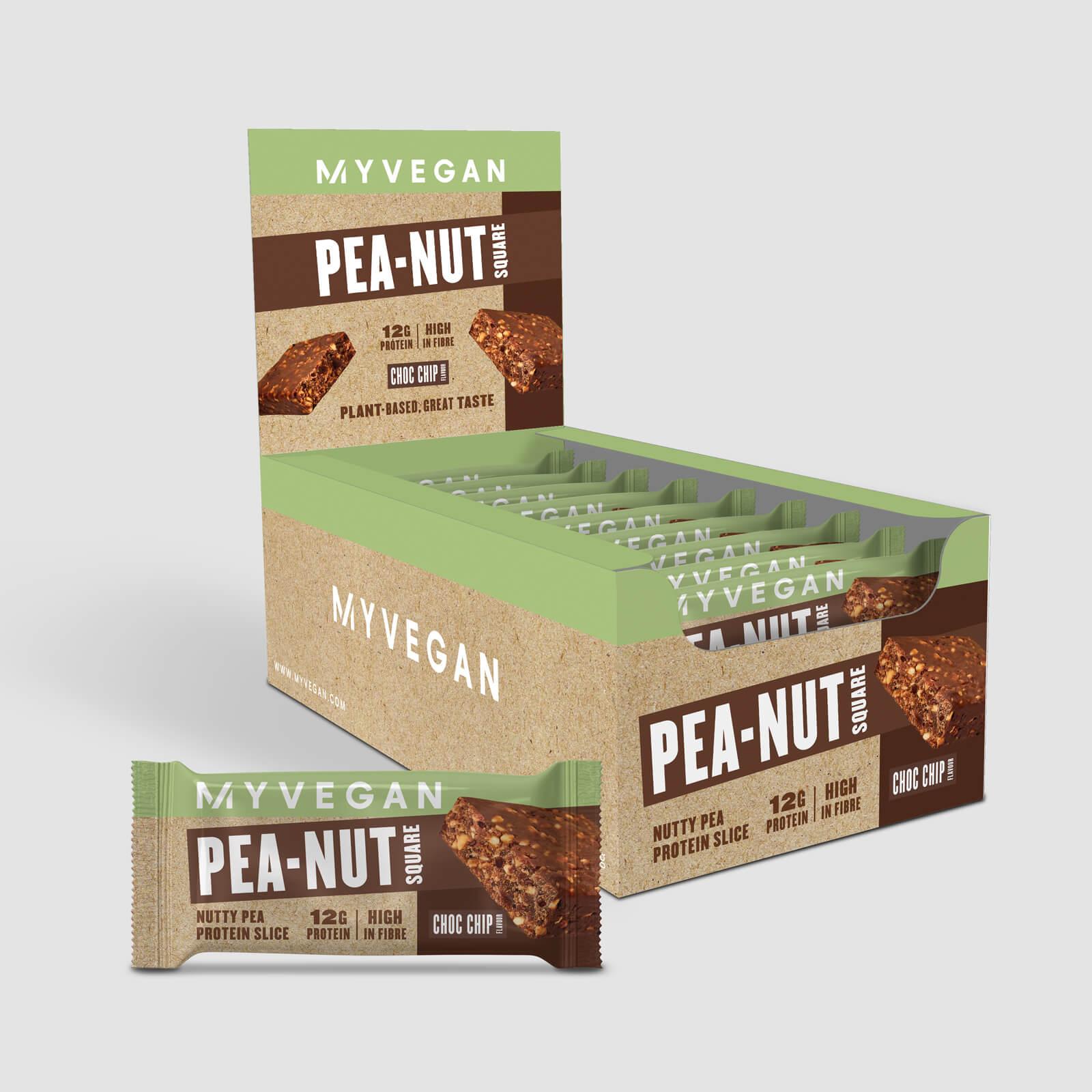 Pea-Nut Square - Choc Chip