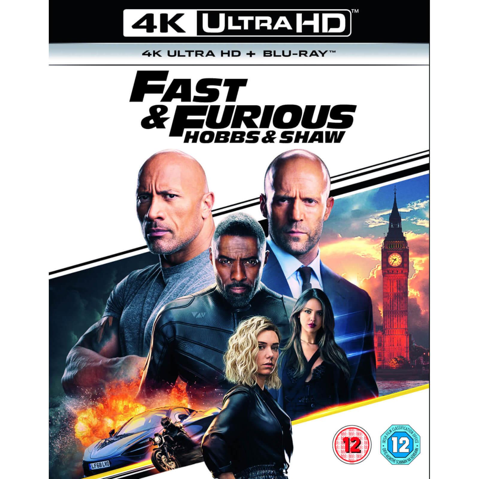 fast & furious presents: hobbs & shaw - 4k ultra hd