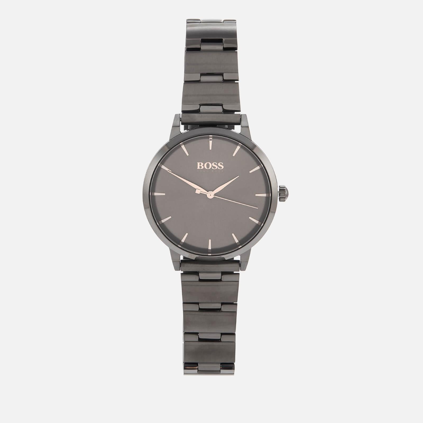 BOSS Hugo Boss Women's Marina Metal Strap Watch - Rouge/Black