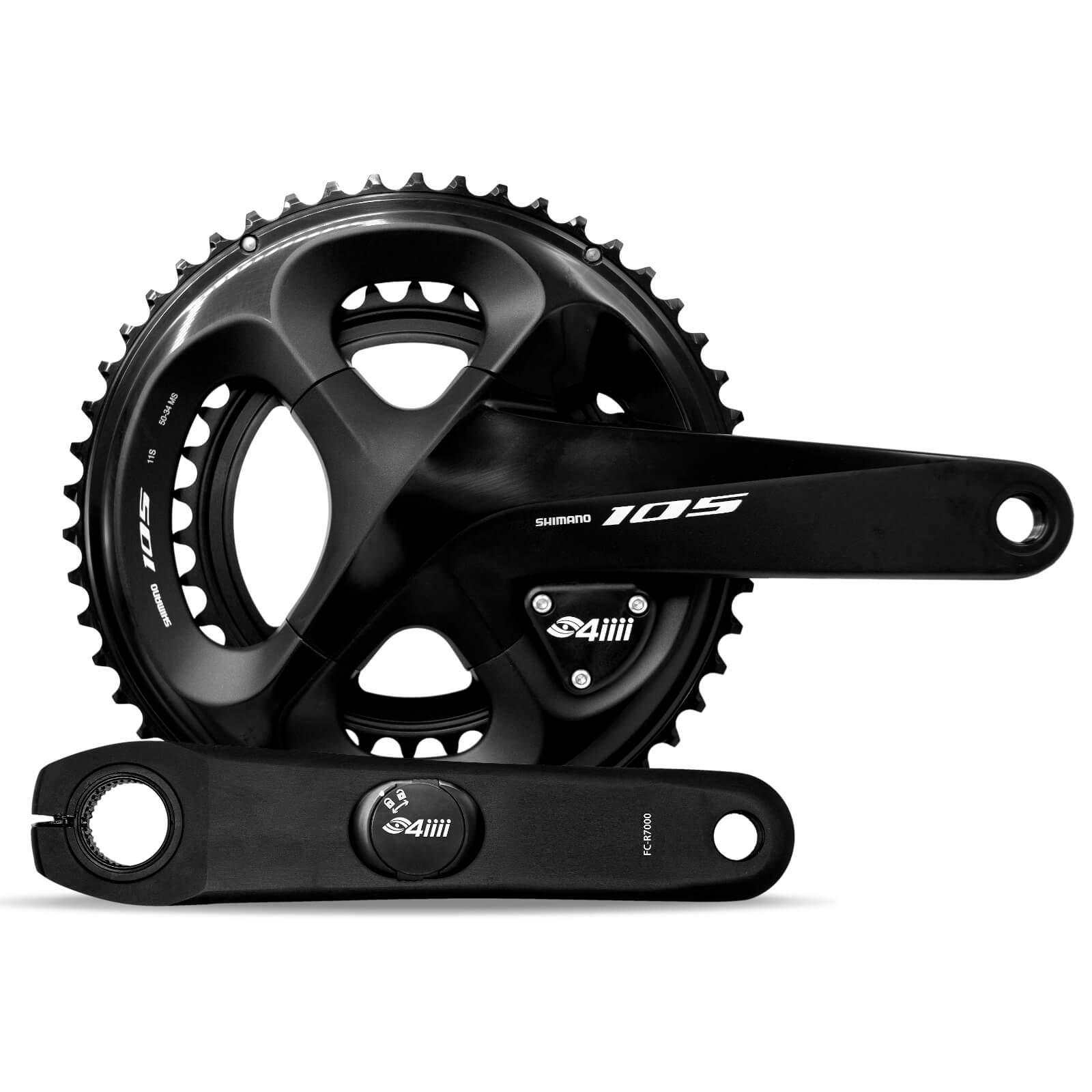 4iiii Precision Pro Dual Sided Power Meter - 105 R7000 - 170mm - 50-34T