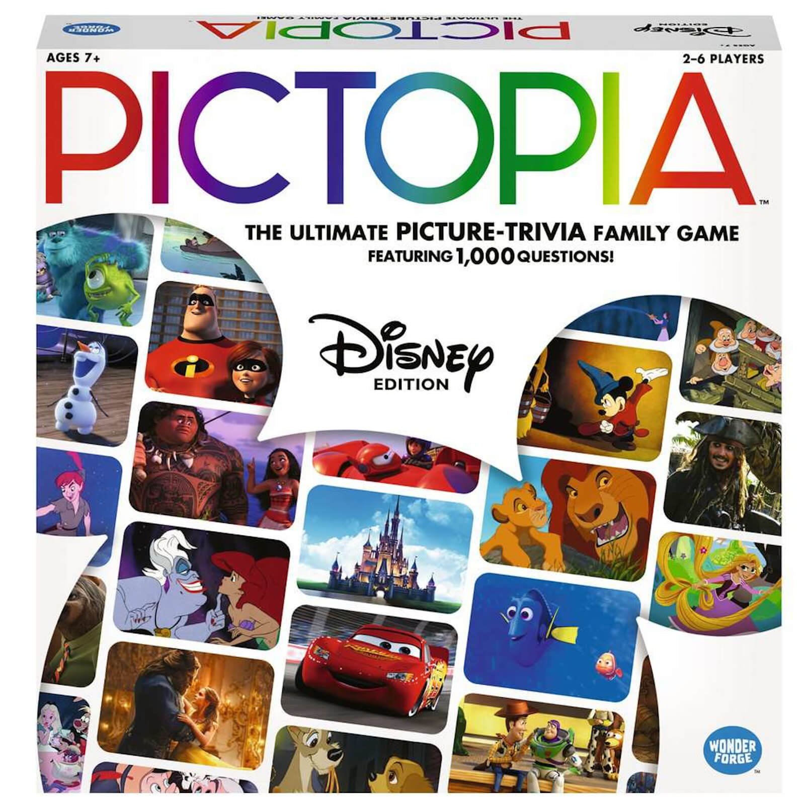 Image of Pictopia Board Game - Disney Edition