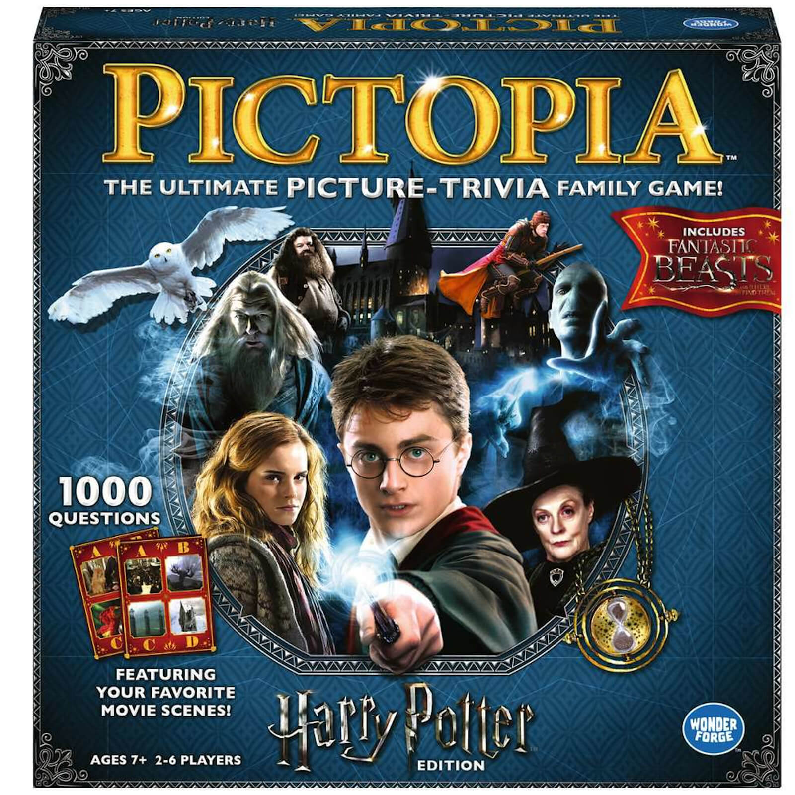 Image of Pictopia Board Game - Harry Potter Edition