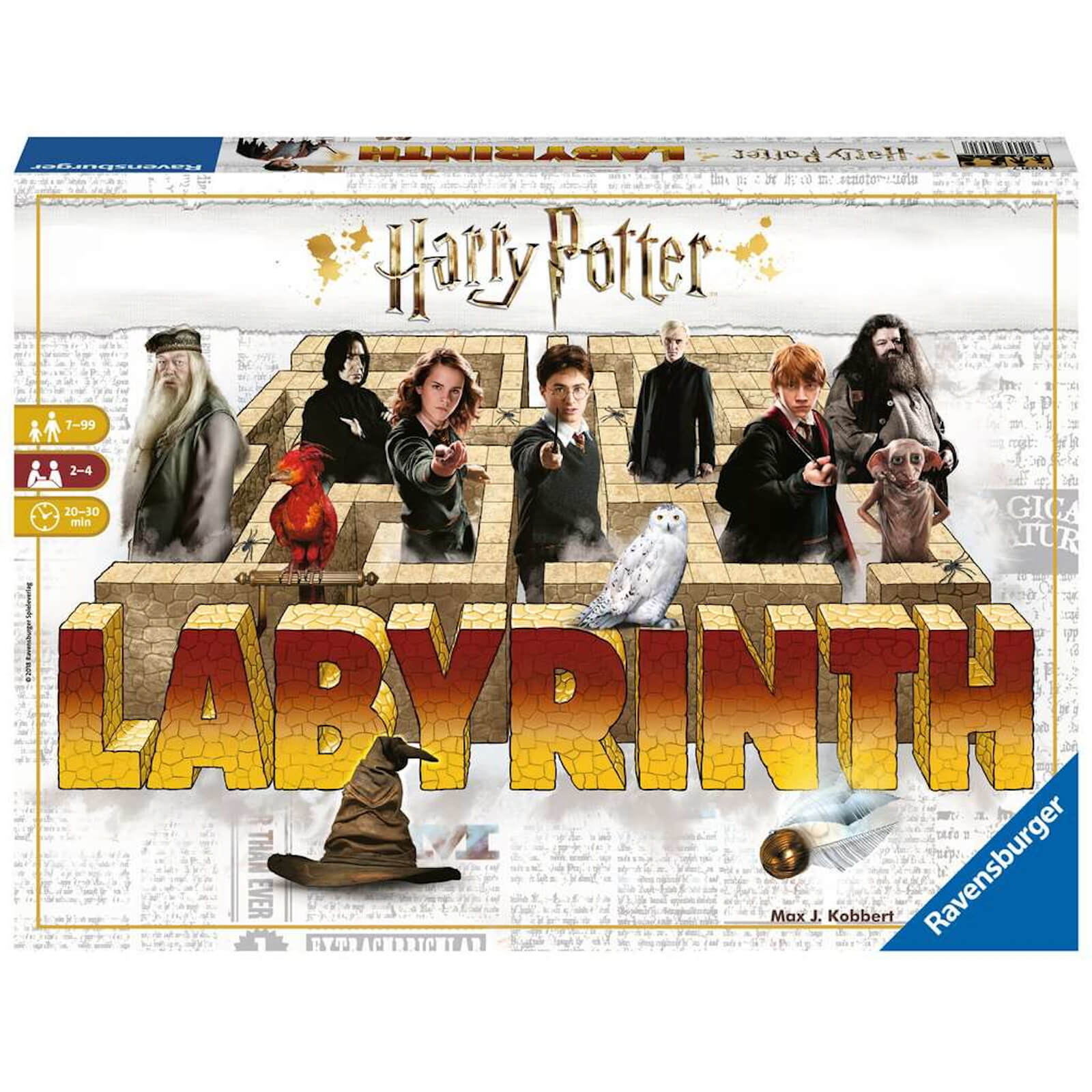 Image of Harry Potter Labyrinth Board Game