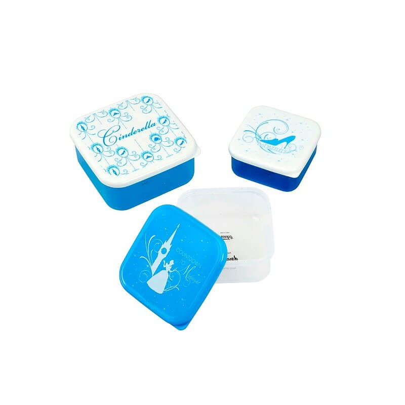 Image of Funko Homeware Cinderella Platinum Anniversary Plastic Storage Set