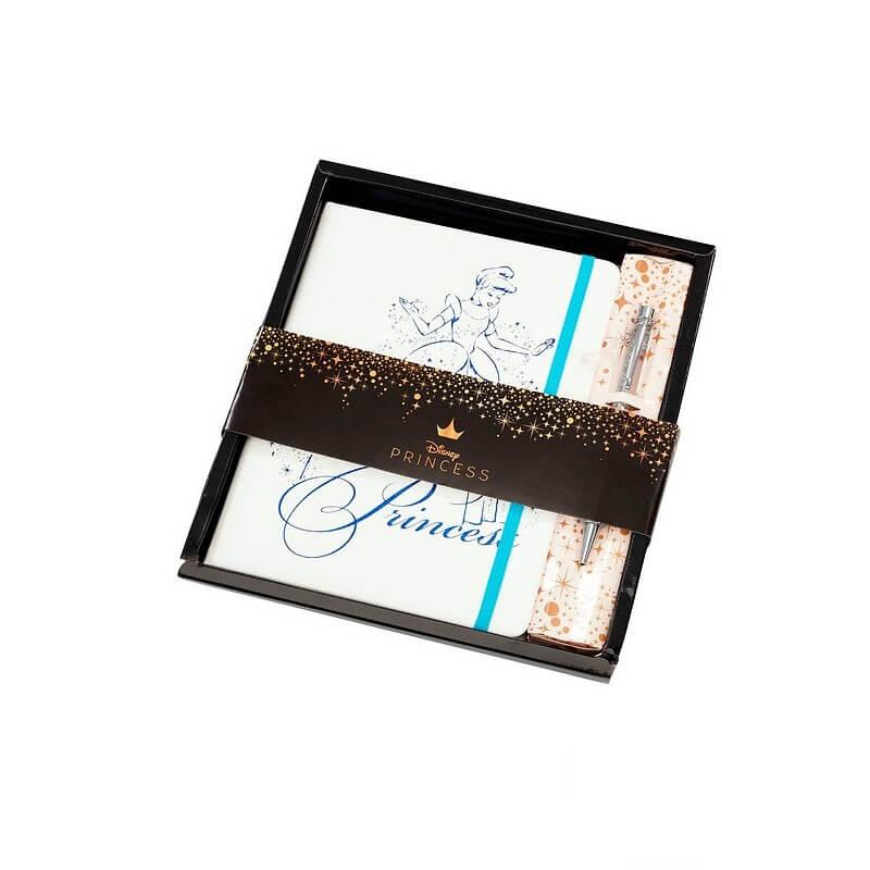 Image of Funko Homeware Cinderella Platinum Anniversary Secret Princess Notebook and Pen
