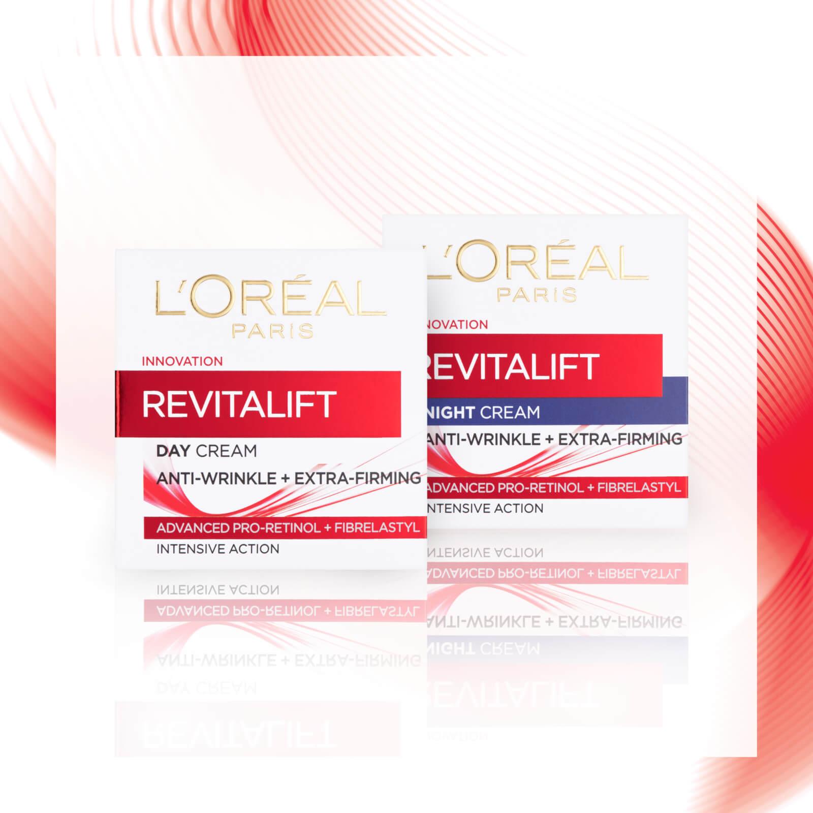 L'Oréal Paris Revitalift Anti-Ageing Skincare Regime Set (Worth £24.98)