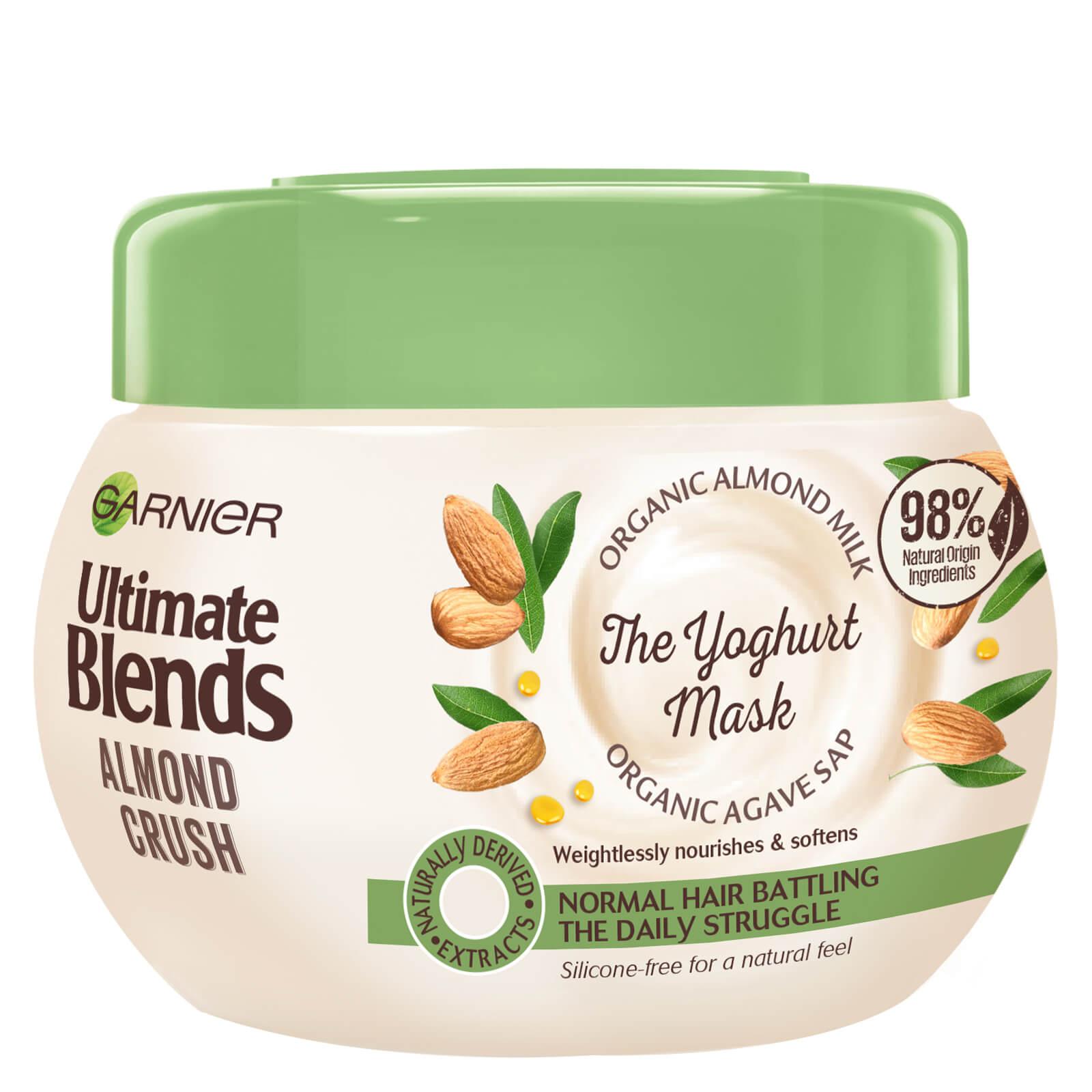 Купить Garnier Ultimate Blends Almond Milk Normal Hair Treatment Mask 300ml