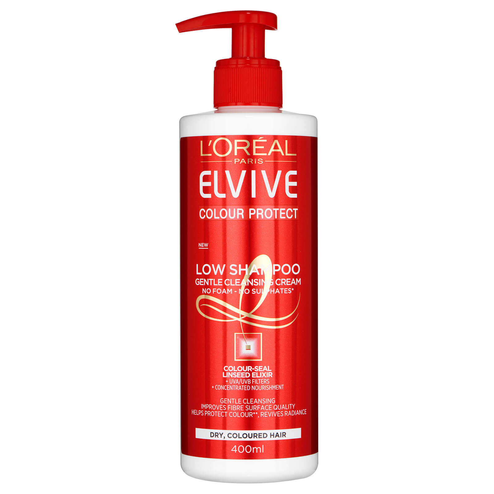 L'Oréal Paris Elvive Colour Protect Low Shampoo 400ml