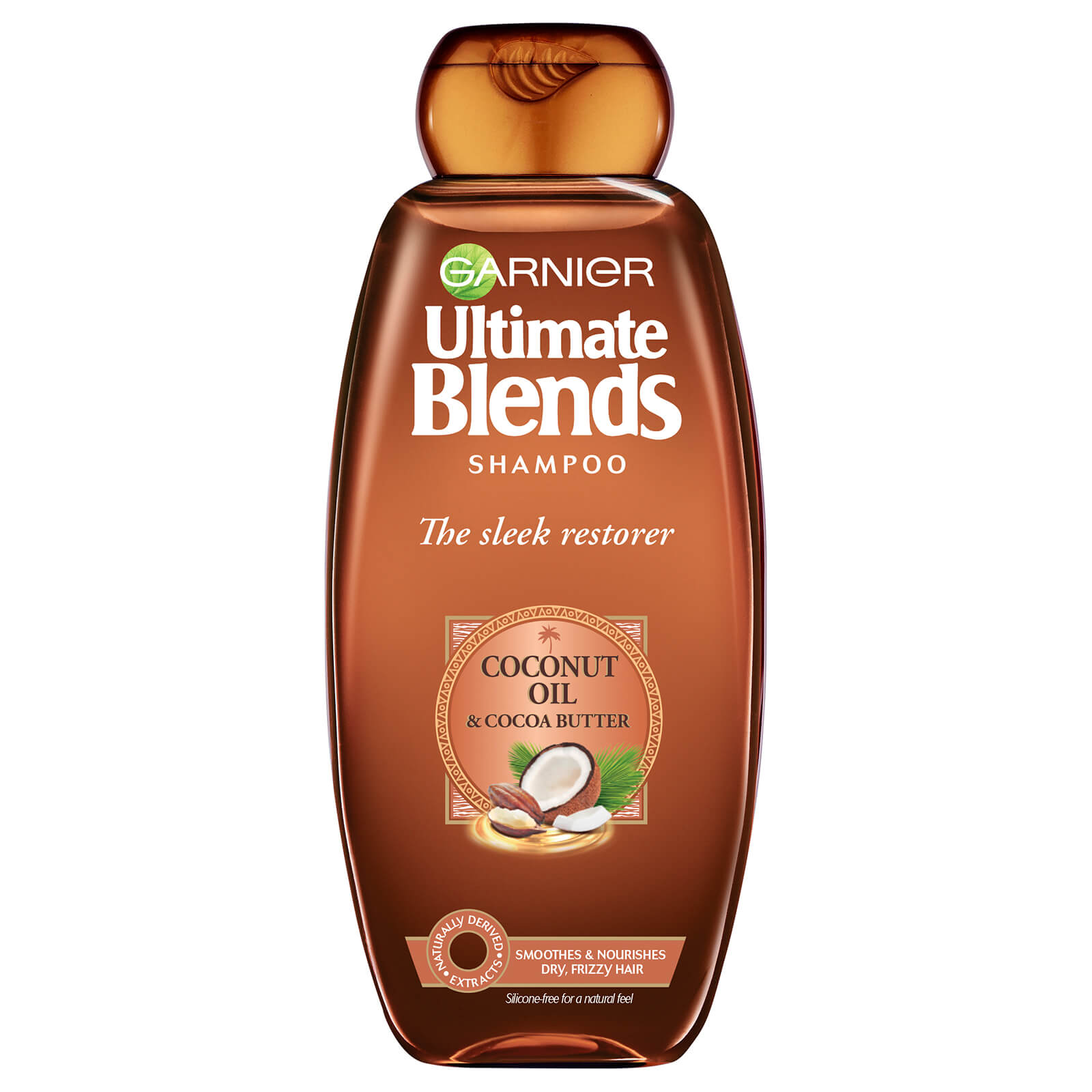 Garnier Ultimate Blends Coconut Oil Frizzy Hair Shampoo 360ml