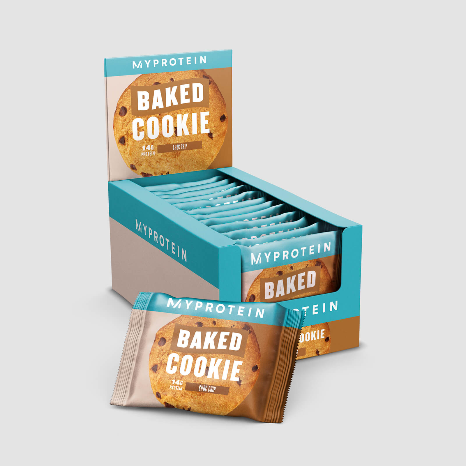 Купить Домашнее протеиновое печенье - Шоколадная крошка, Myprotein International