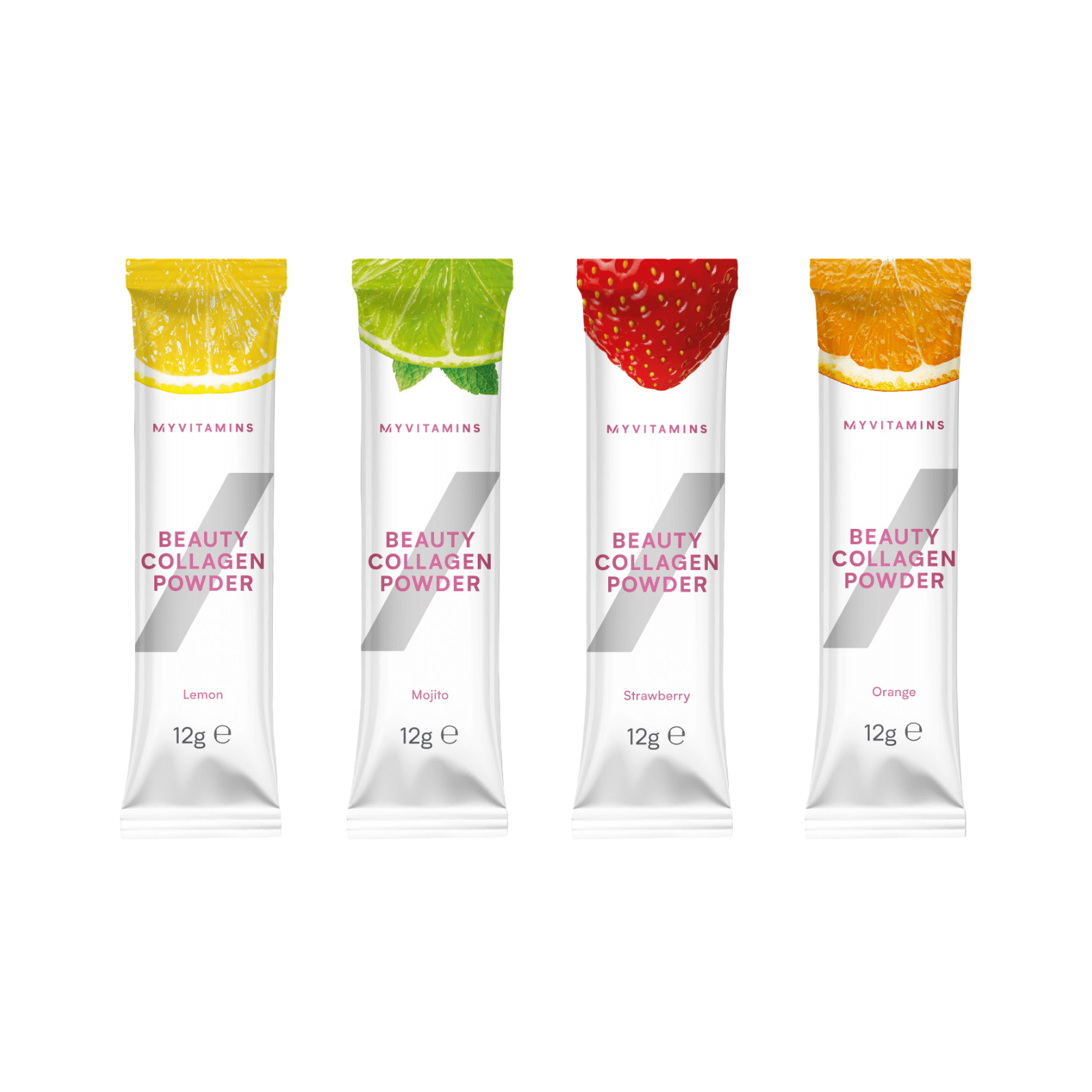 Beauty Collagen Powder Stick Pack (Sample) - 12g - Strawberry