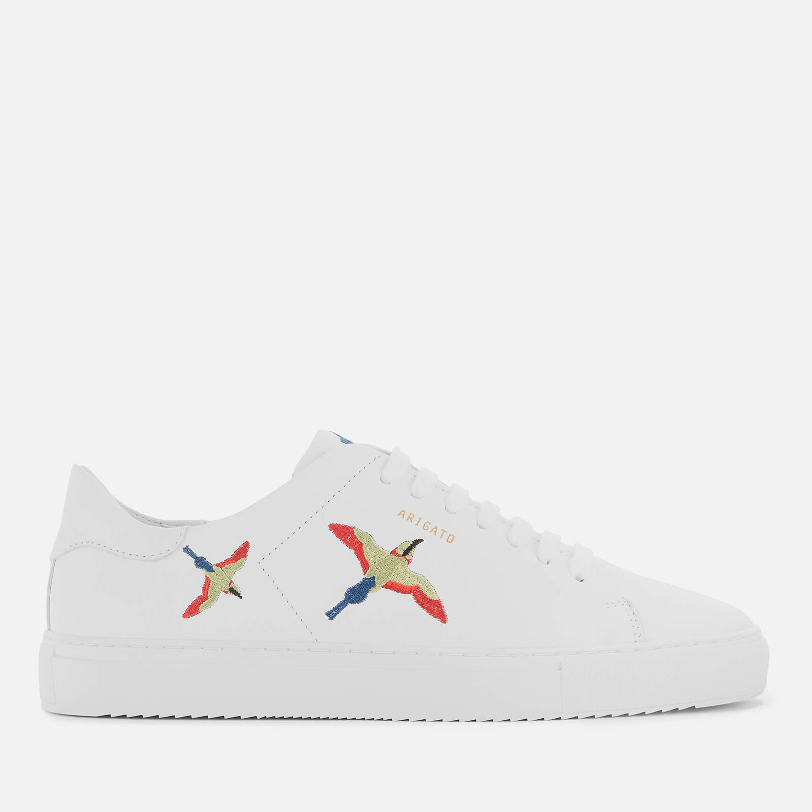 Axel Arigato Men's Clean 90 Bird Leather Cupsole Trainers - White - UK 8
