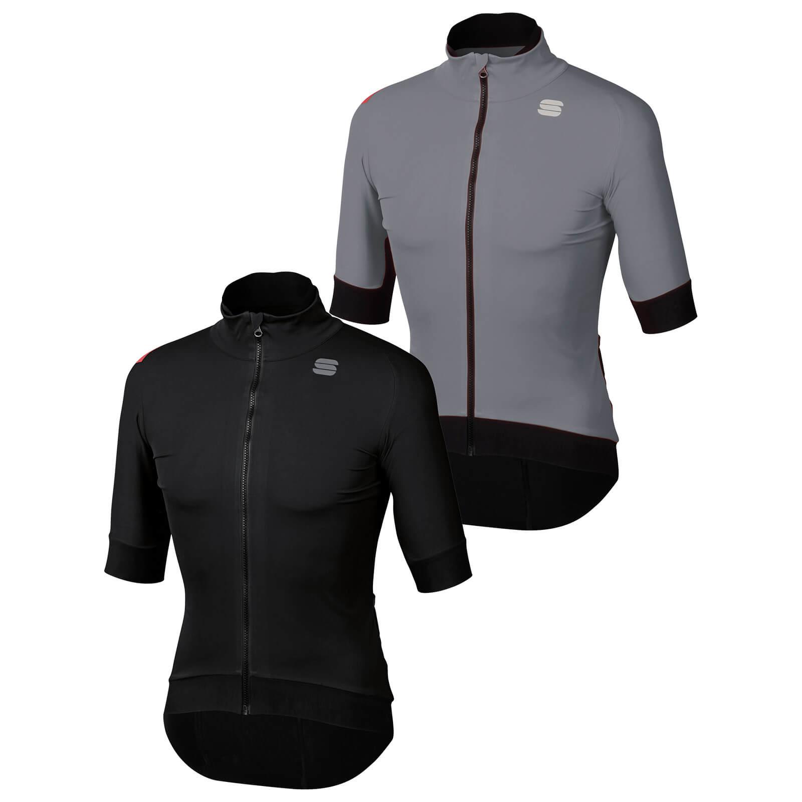 Sportful Fiandre Pro Short Sleeve Jacket - XXL - Black