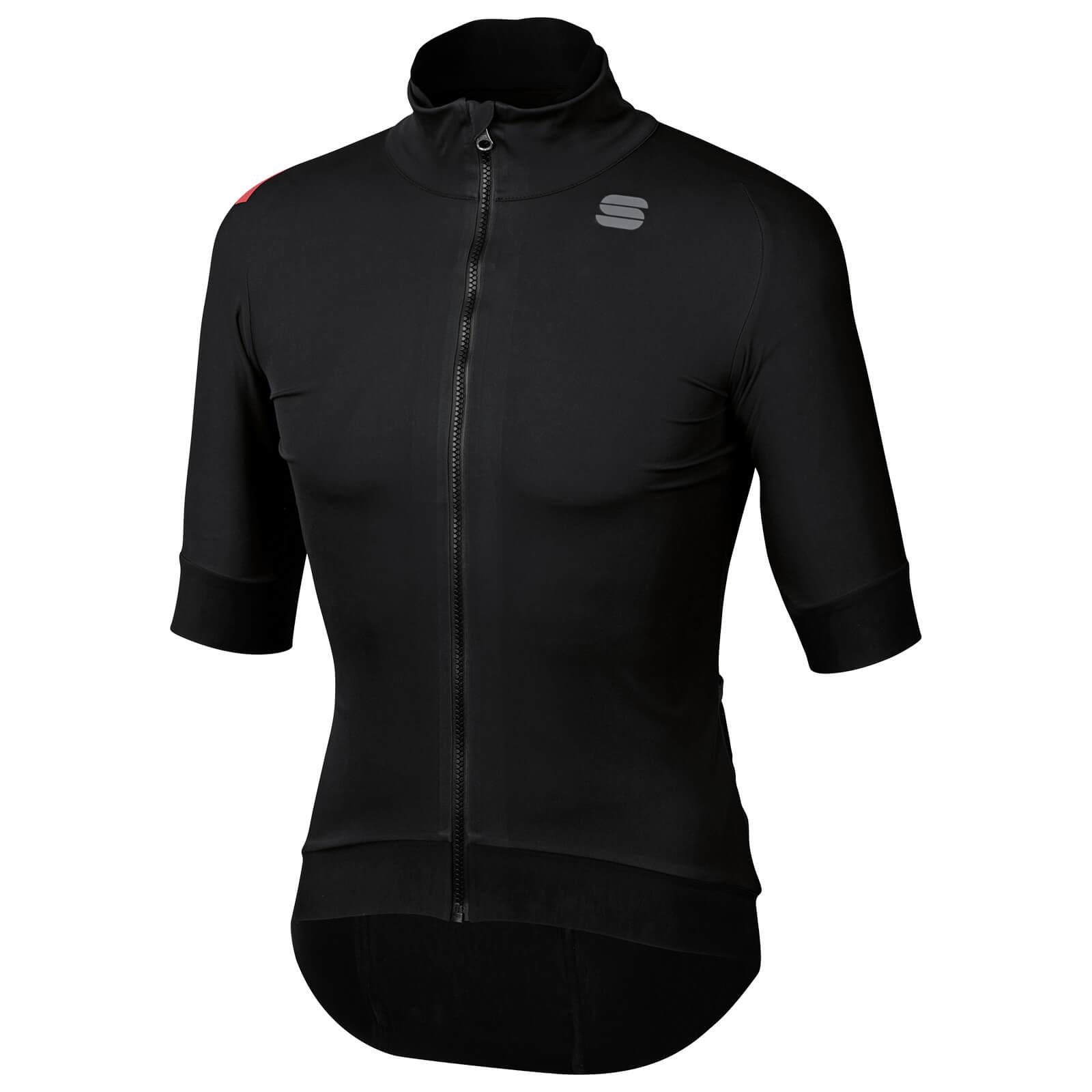 Sportful Fiandre Pro Short Sleeve Jacket - M - Black