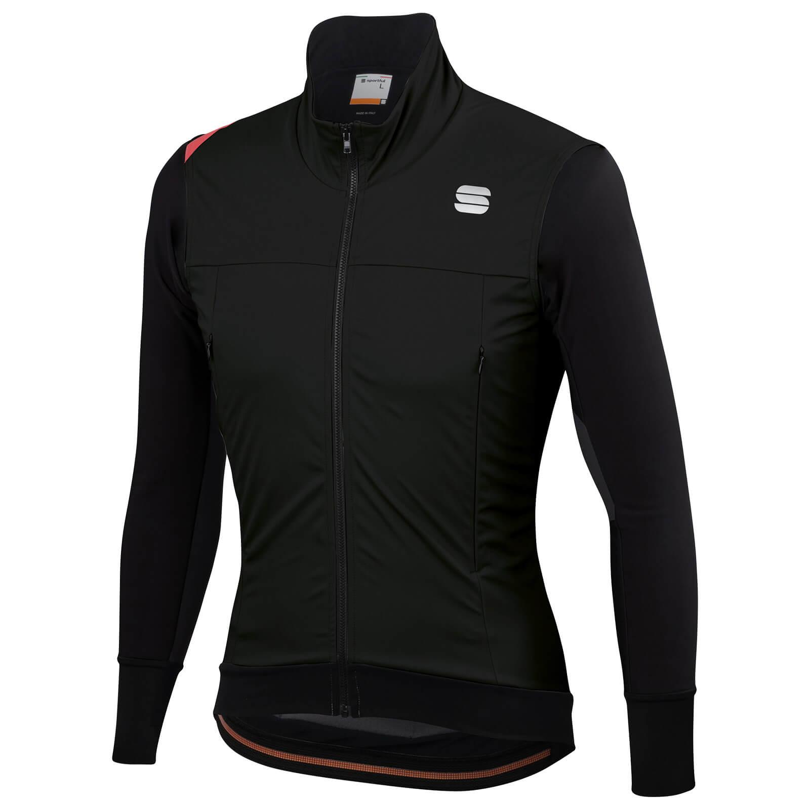 Sportful Fiandre Strato Wind Jacket - L - Schwarz