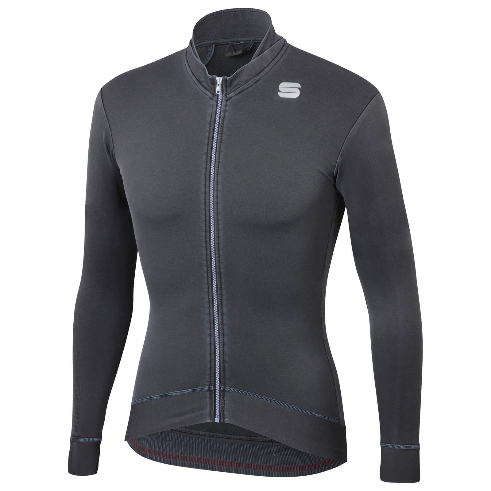 Sportful Monocrom Thermal Jersey - XL - Anthracite