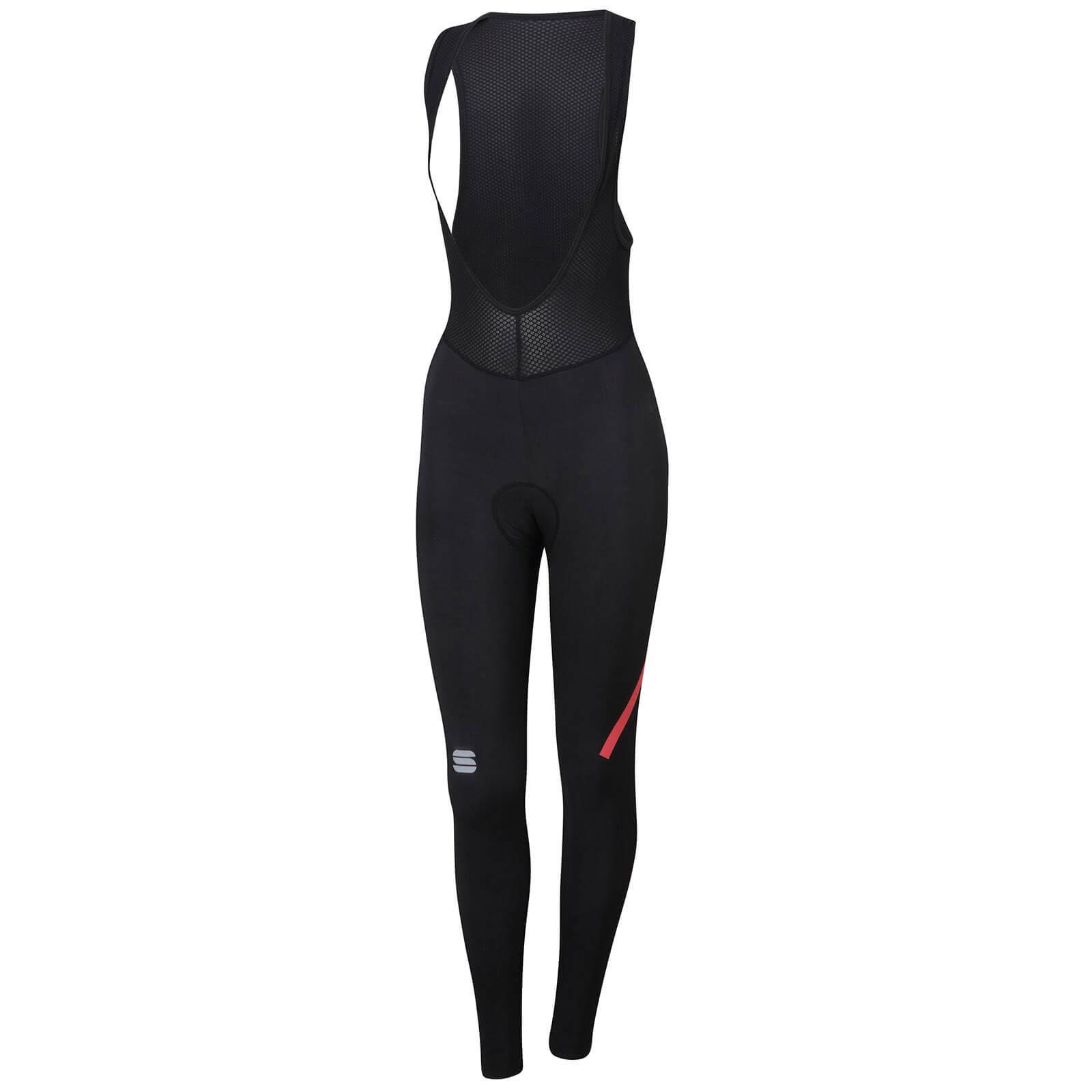 Sportful Women's NoRain Bib Tights - Black - XS - Blue