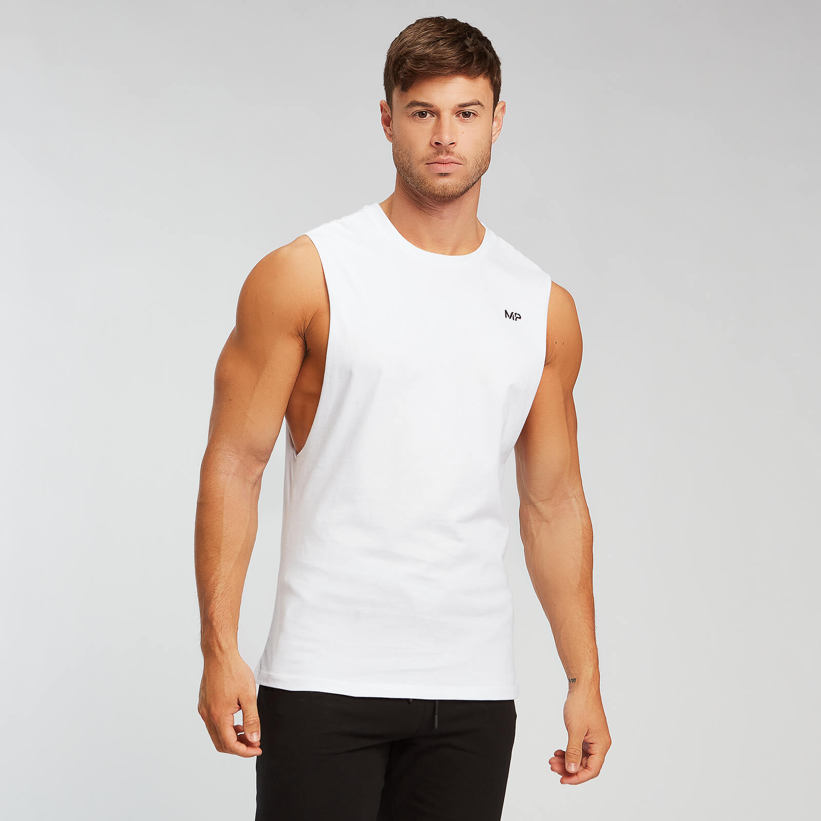 Débardeur MP Essentials Drop Armhole - Blanc - XXL