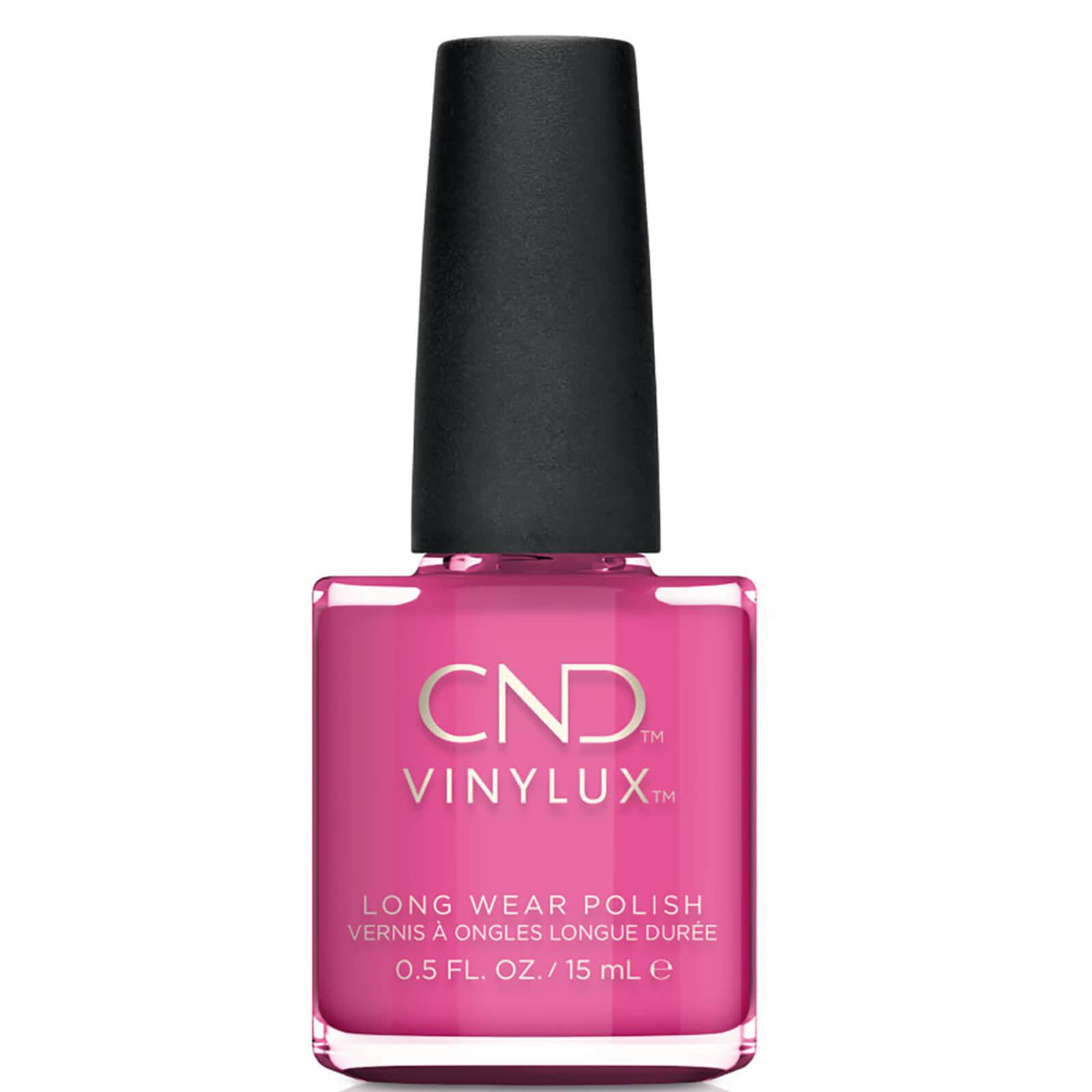 CND Vinylux Hot Pop Pink Nail Varnish 15ml