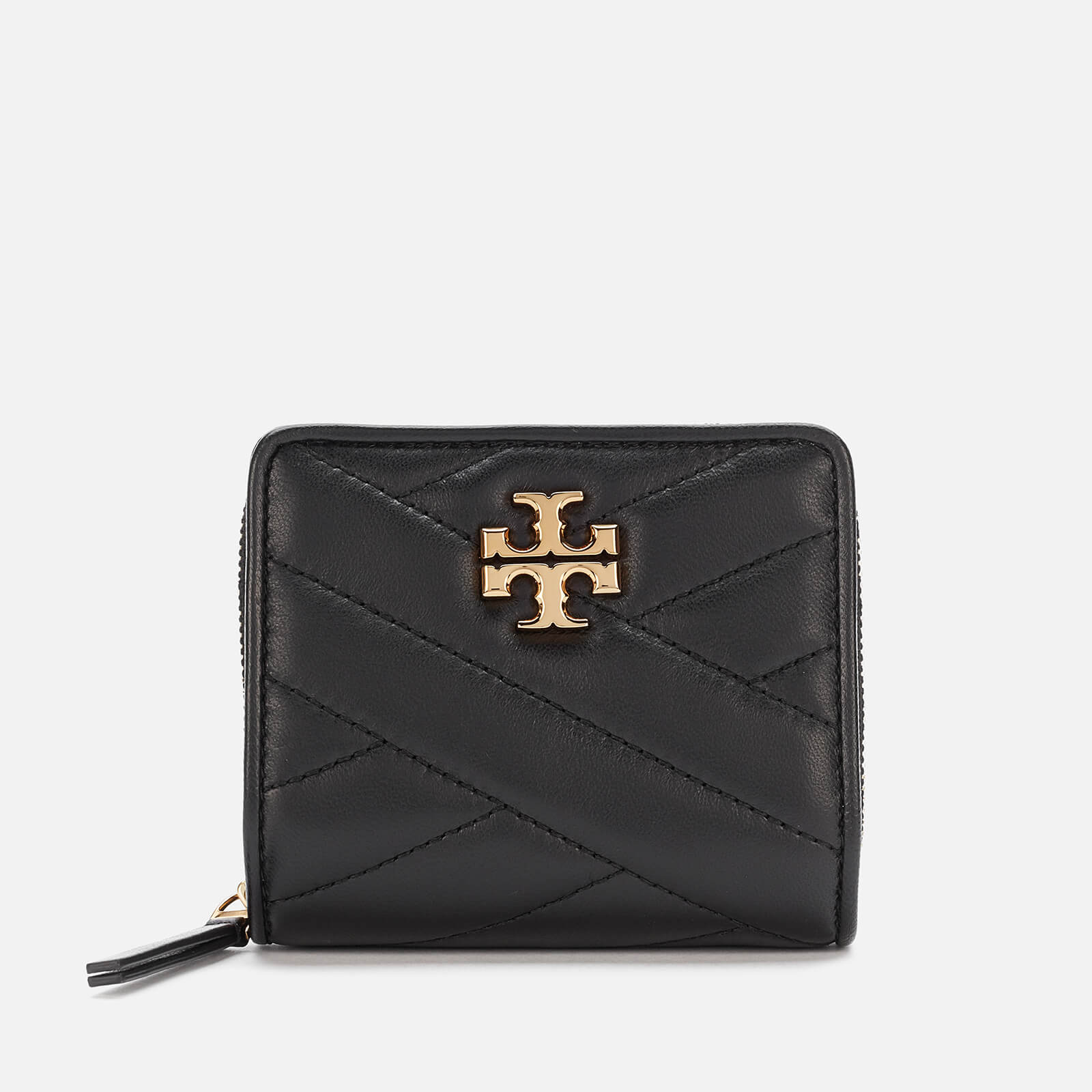 Tory Burch Women's Kira Chevron Bi-Fold Wallet - Black