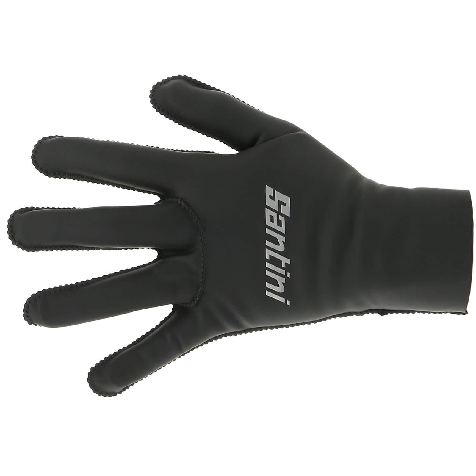 Santini Vega Gloves - Black - XL