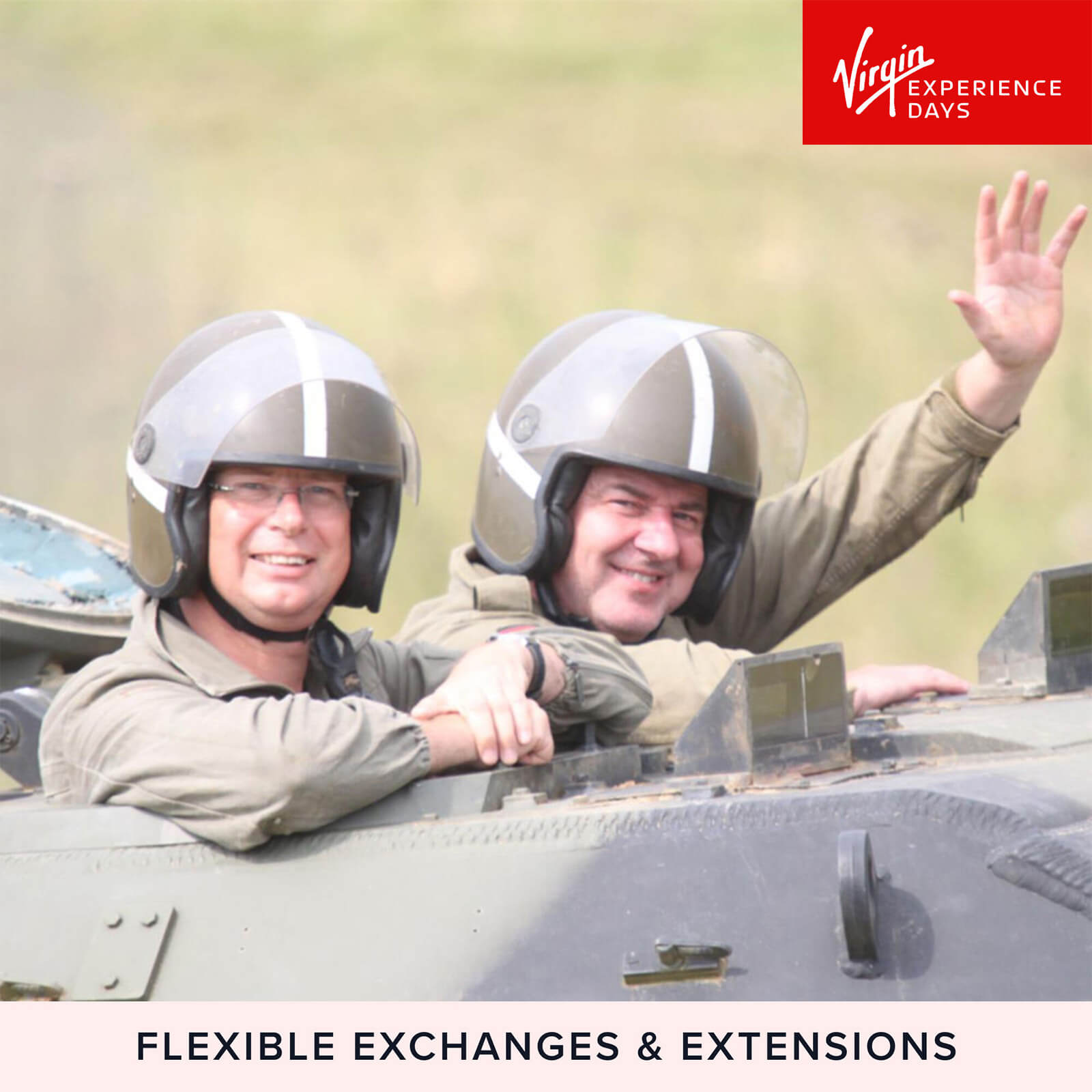 Image of Tank Driving Taster for Two