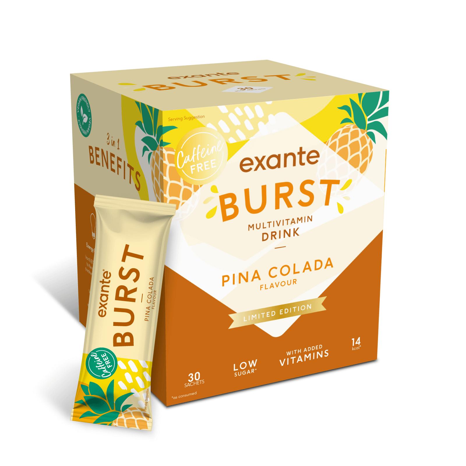 BURST Pina Colada (limitierte Edition) - 30 Portionen