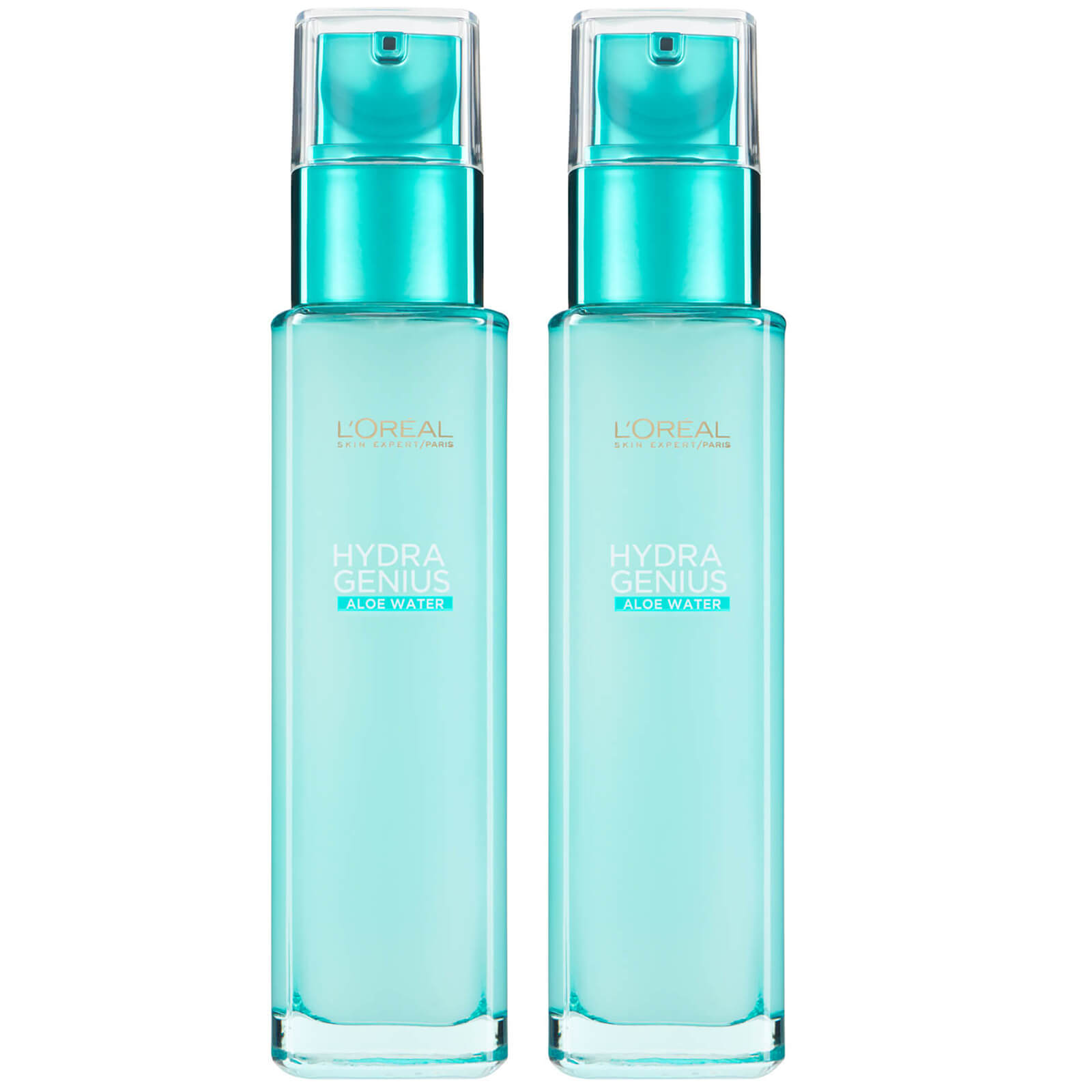 Купить L'Oréal Paris Hydra Genius Liquid Care Moisturiser for Normal Combination Skin 70ml 2 Pack Exclusive