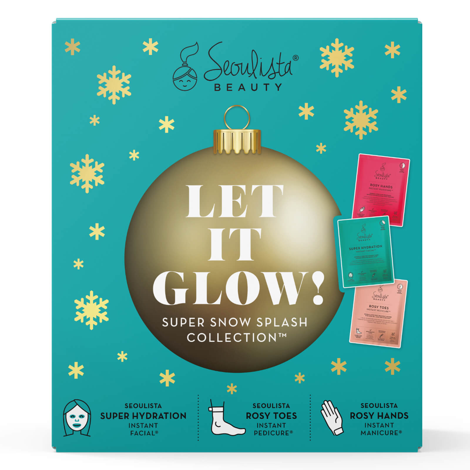 Купить Seoulista Beauty Christmas Pack - Let it Glow! Super Snow Splash Collection